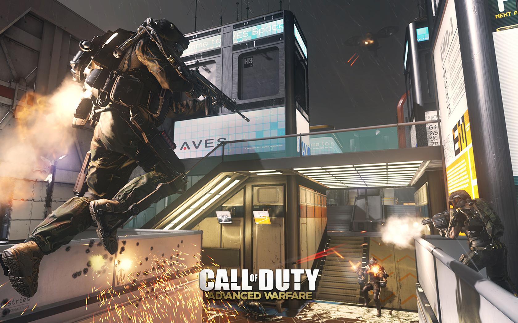 Free Call of Duty: Advanced Warfare Wallpaper in 1680x1050