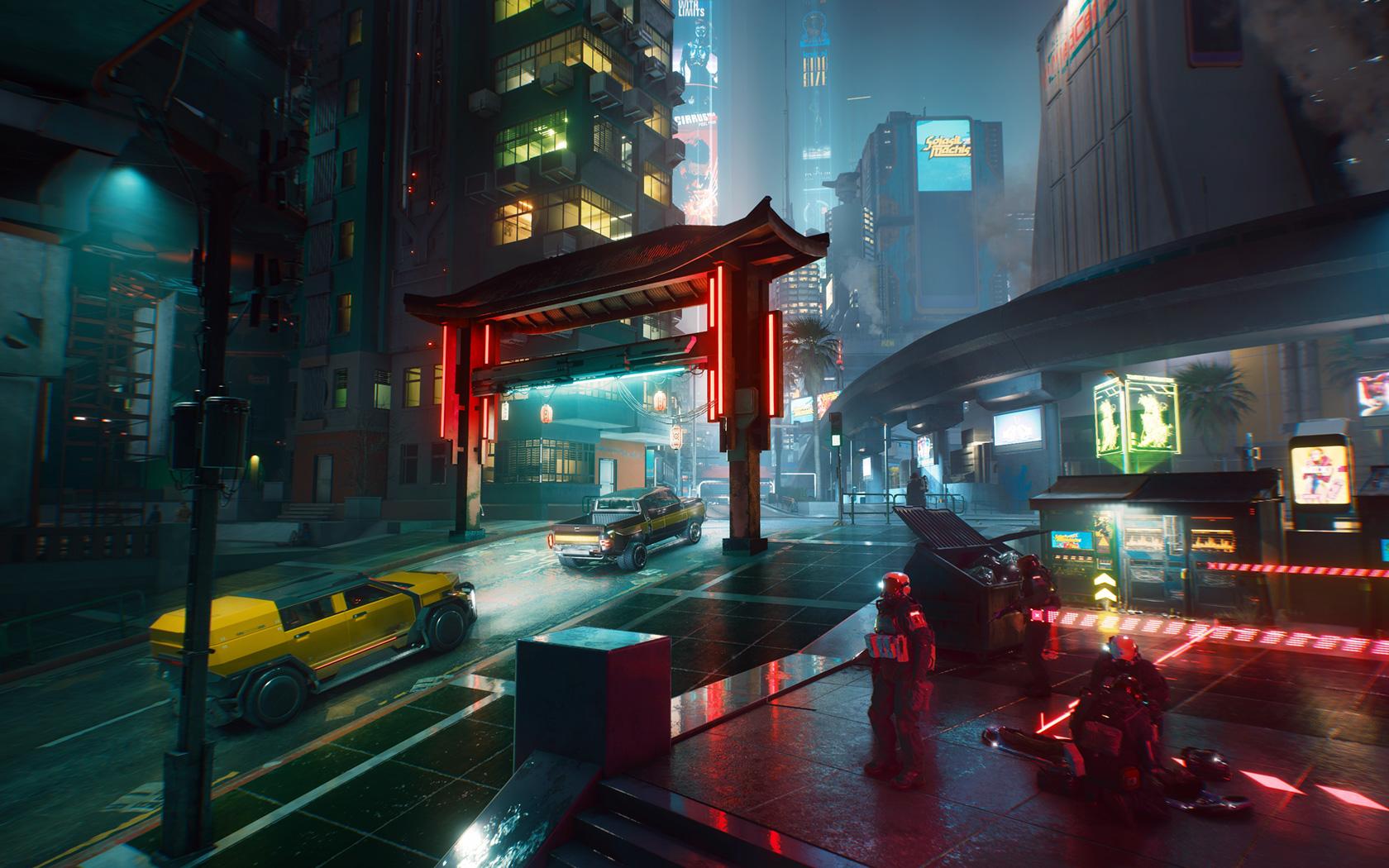 Cyberpunk 2077 Wallpaper in 1680x1050