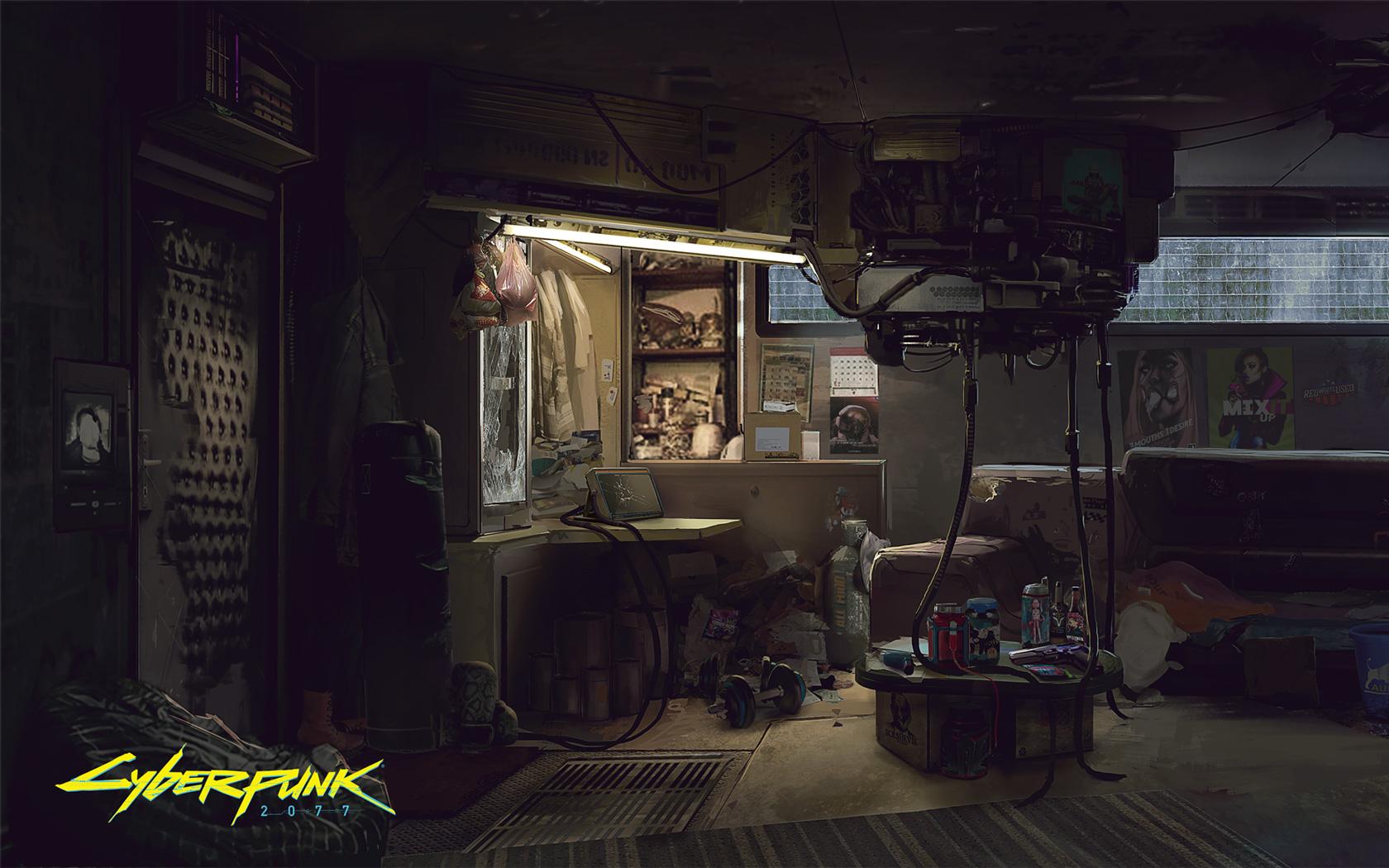 Free Cyberpunk 2077 Wallpaper in 1680x1050