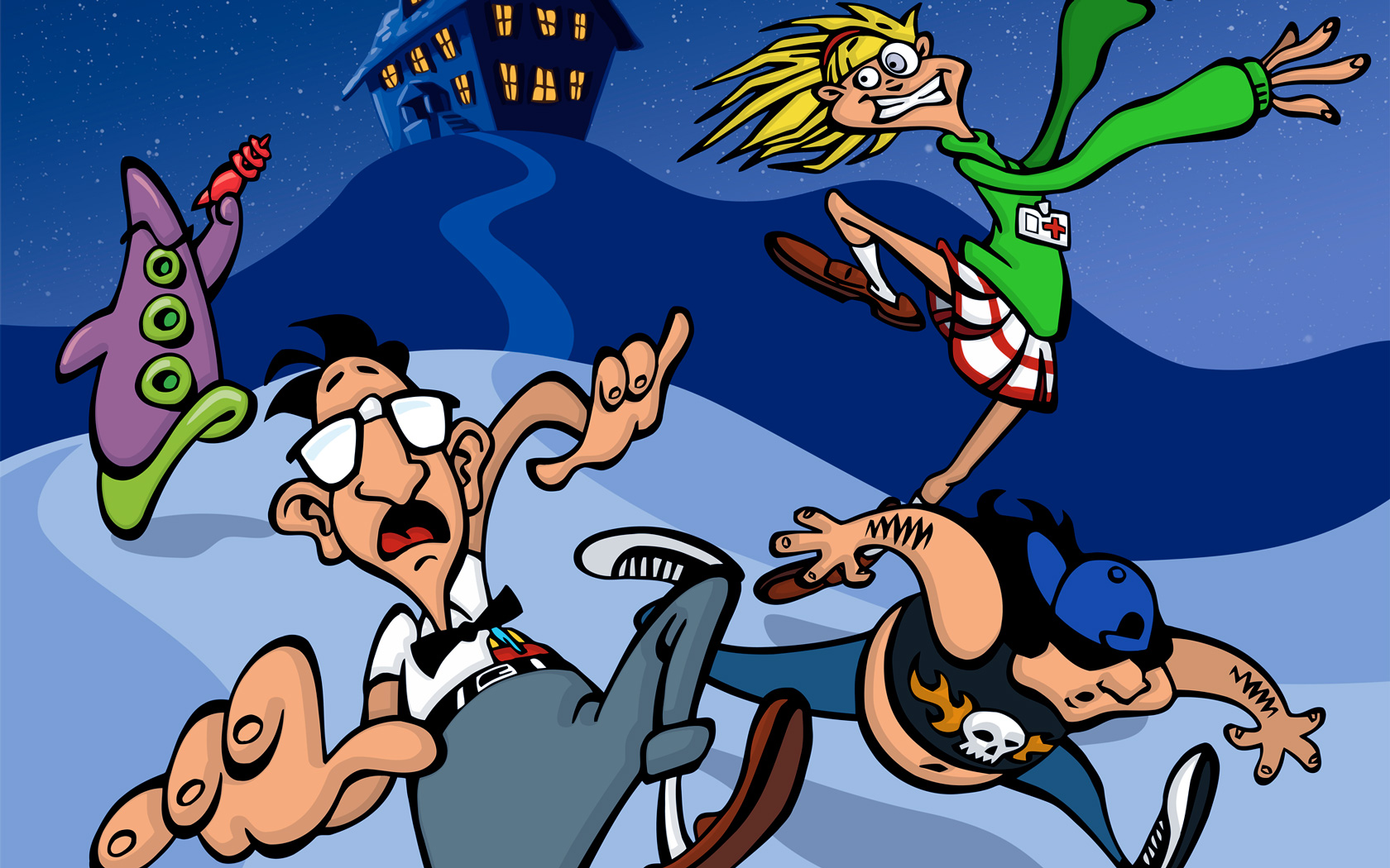 Free Day of the Tentacle Wallpaper in 1680x1050