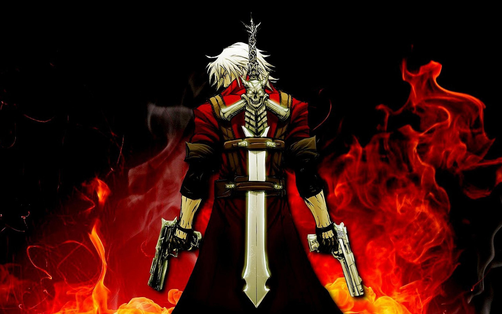 Devil May Cry 4 Wallpaper in 1680x1050