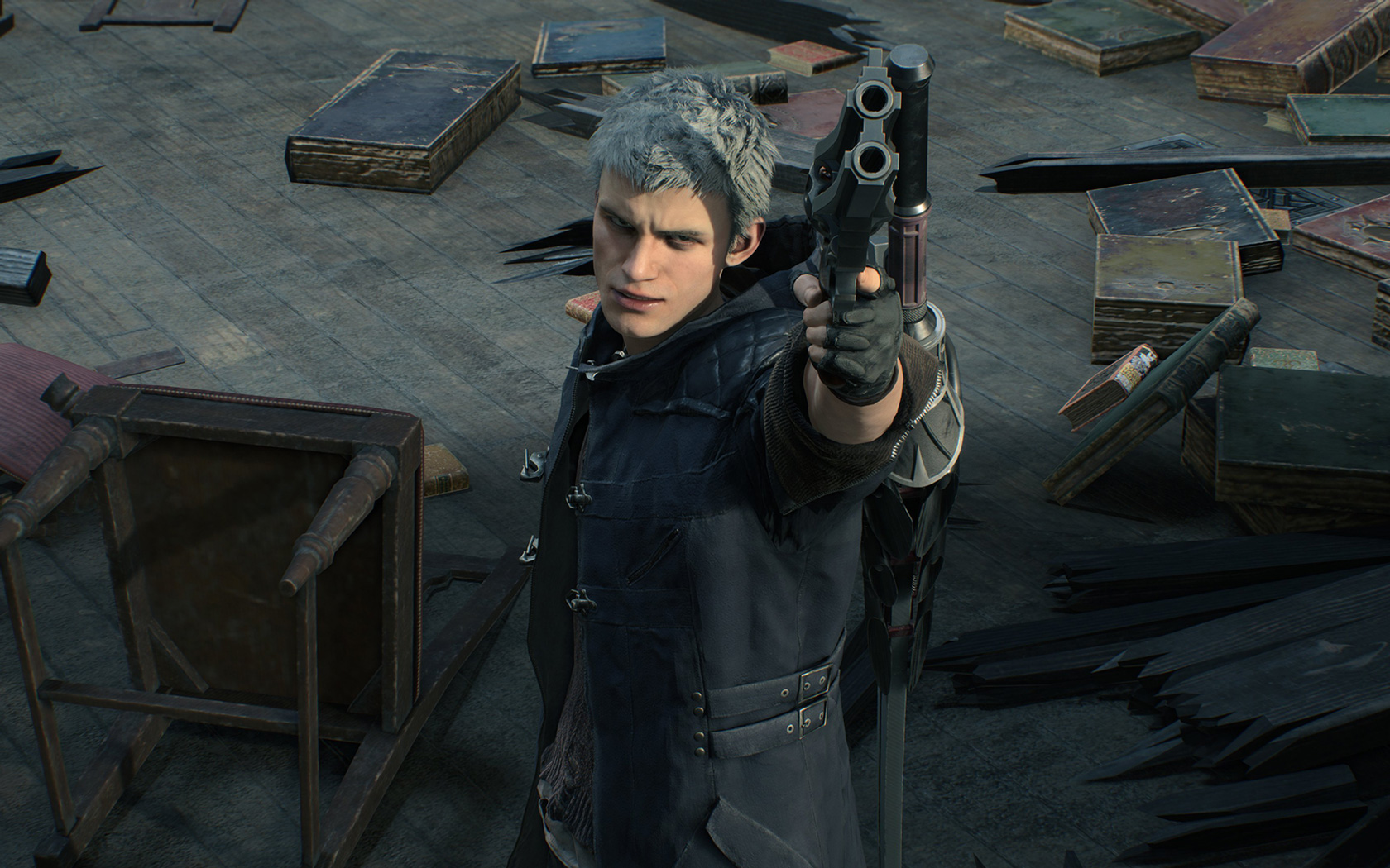 Free Devil May Cry 5 Wallpaper in 1680x1050