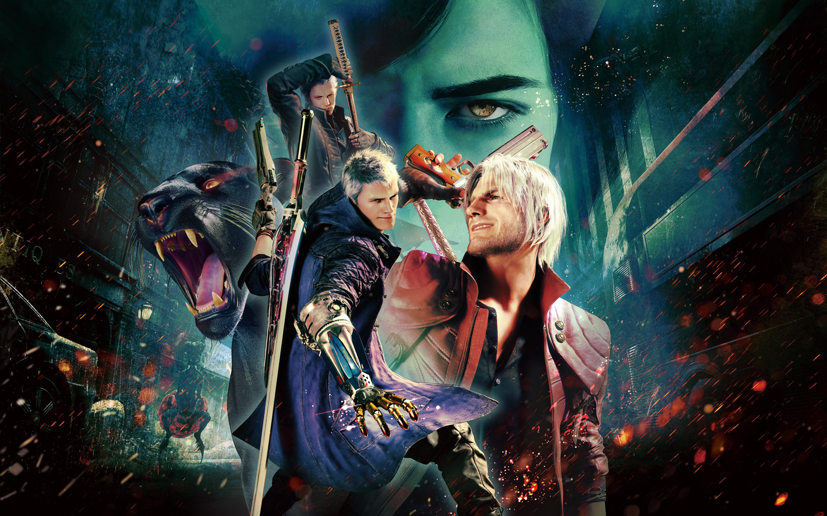 Devil May Cry 5 Wallpaper in 1680x1050