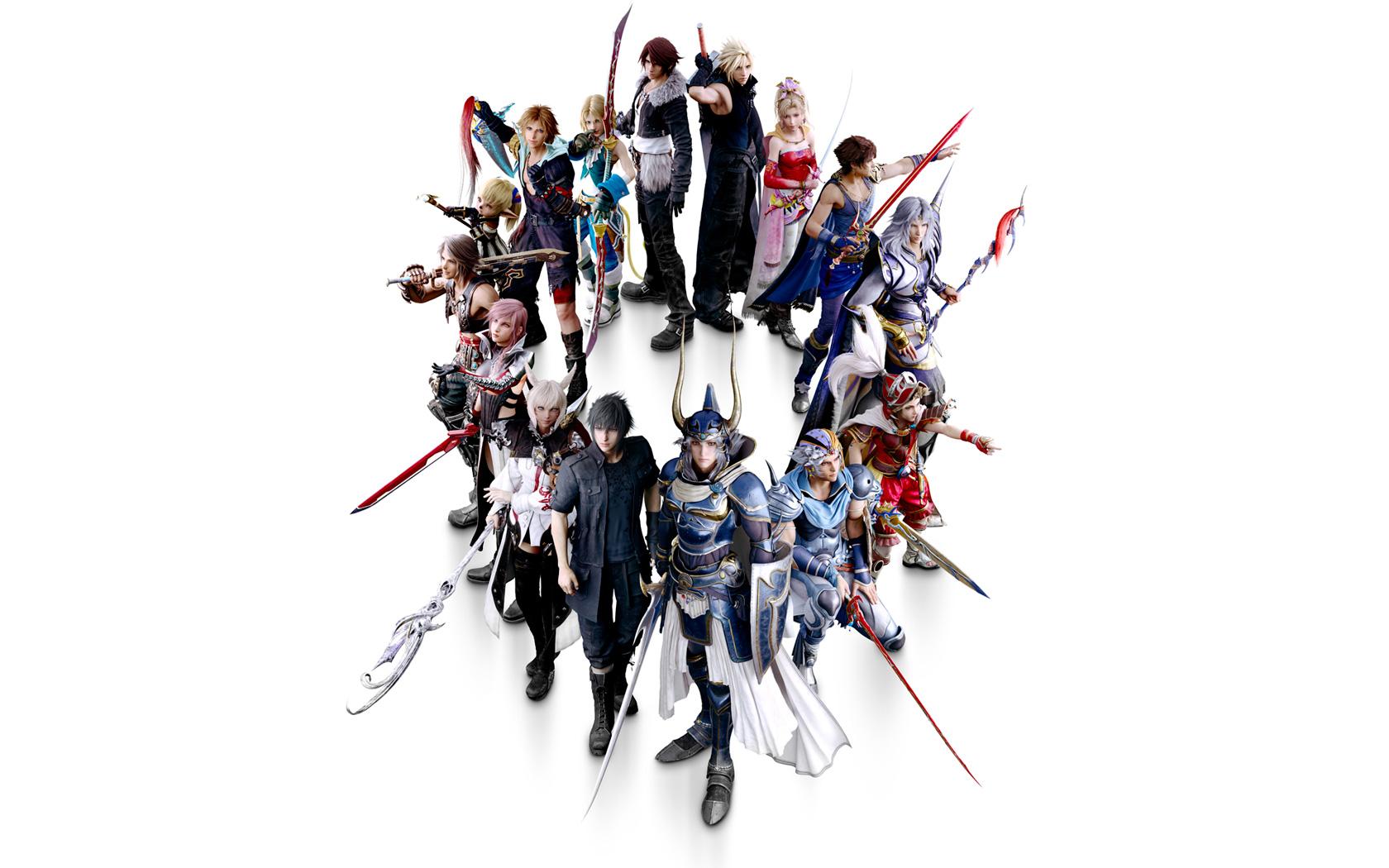 Free Dissidia Final Fantasy NT Wallpaper in 1680x1050