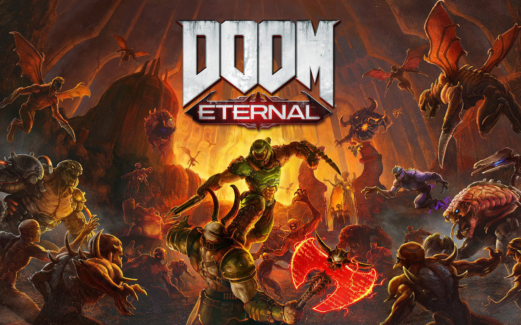 Free Doom Eternal Wallpaper in 1680x1050
