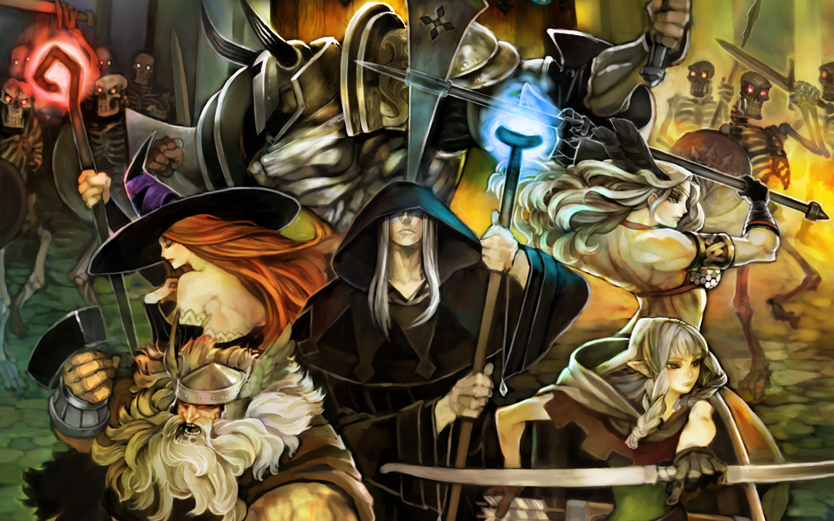 Free Dragon's Crown Wallpaper in 1680x1050