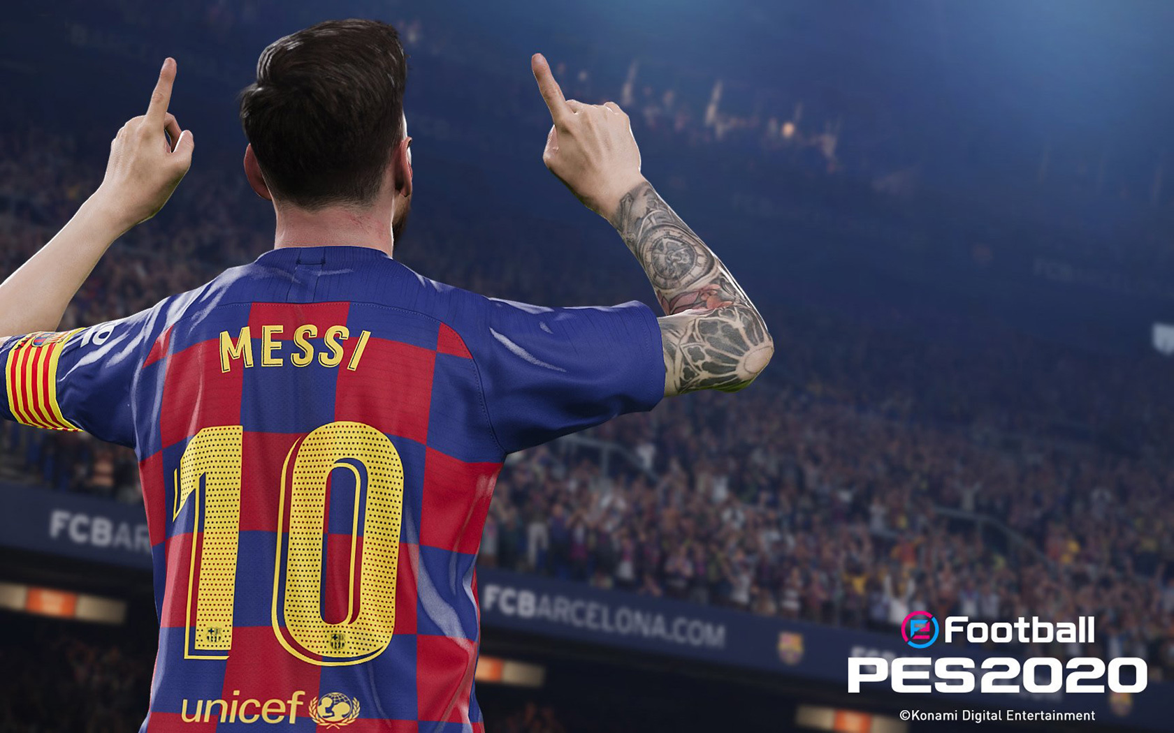 Free eFootball PES 2020 Wallpaper in 1680x1050