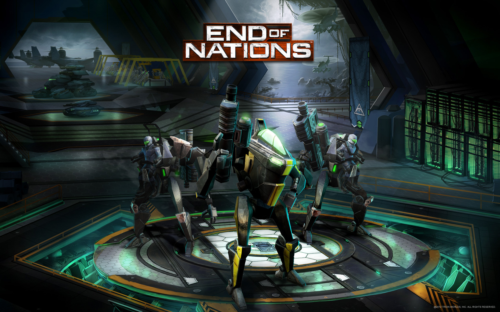 Free End of Nations Wallpaper in 1680x1050