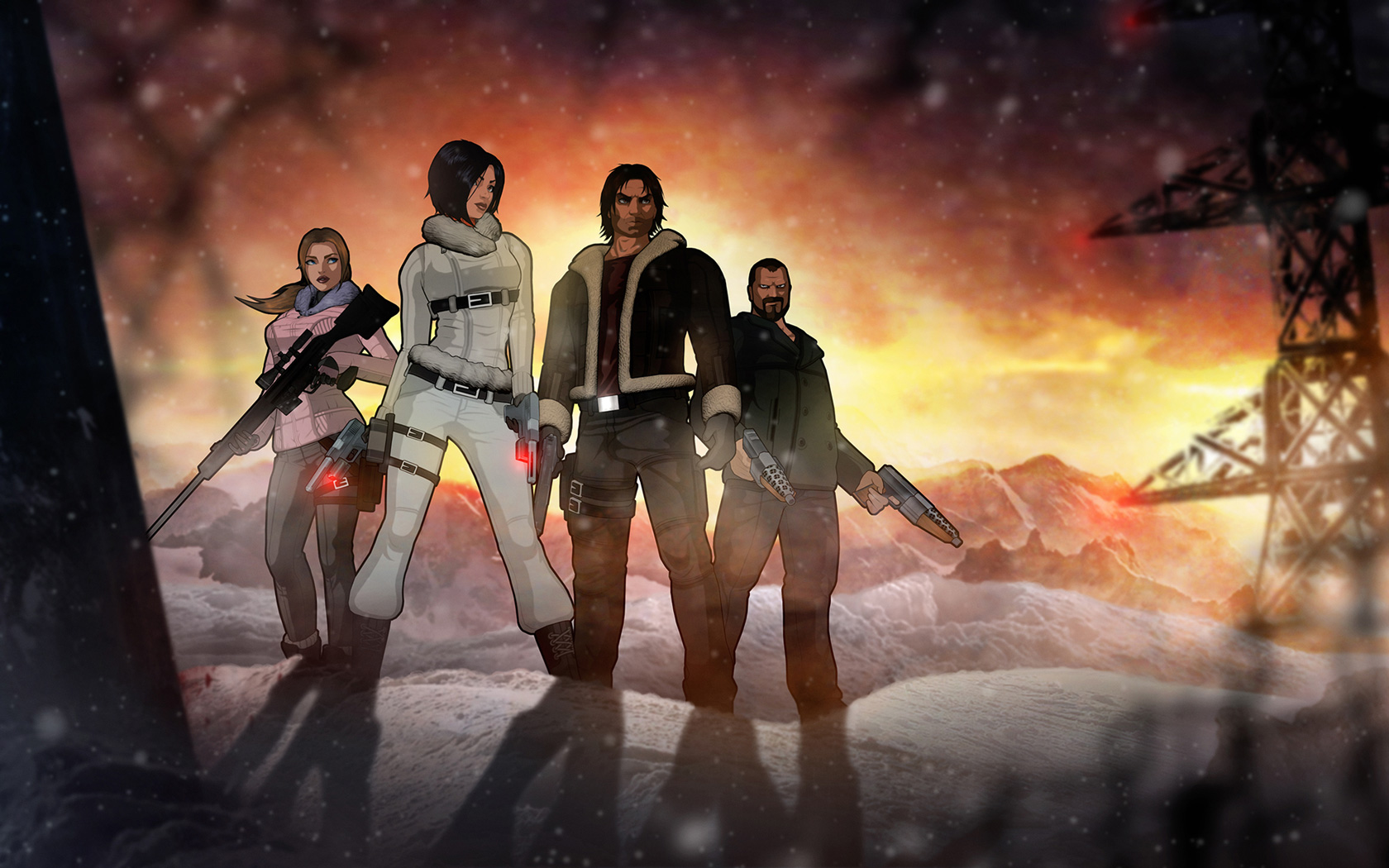 Fear Effect Sedna Wallpaper in 1680x1050