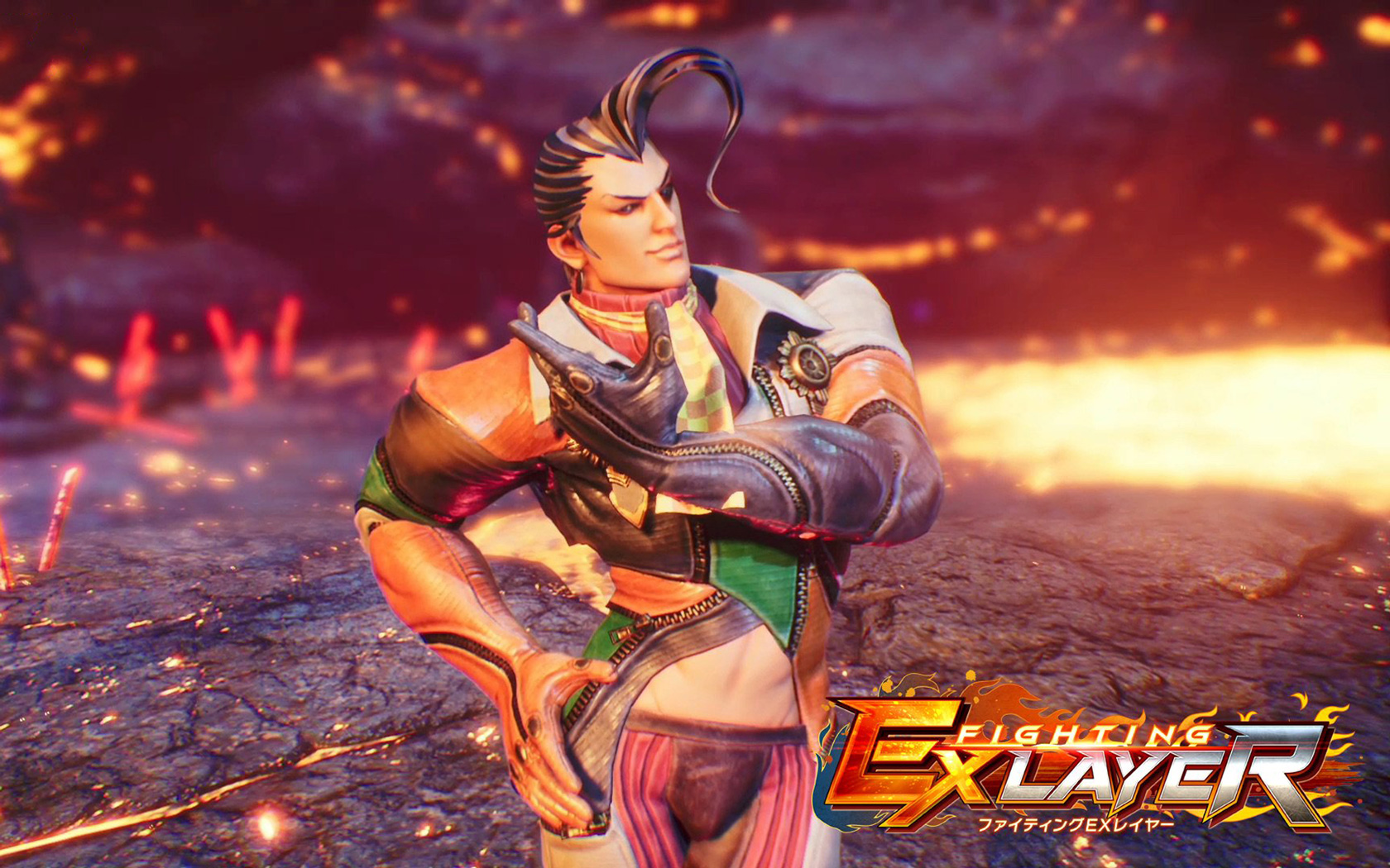 Free Fighting EX Layer Wallpaper in 1680x1050