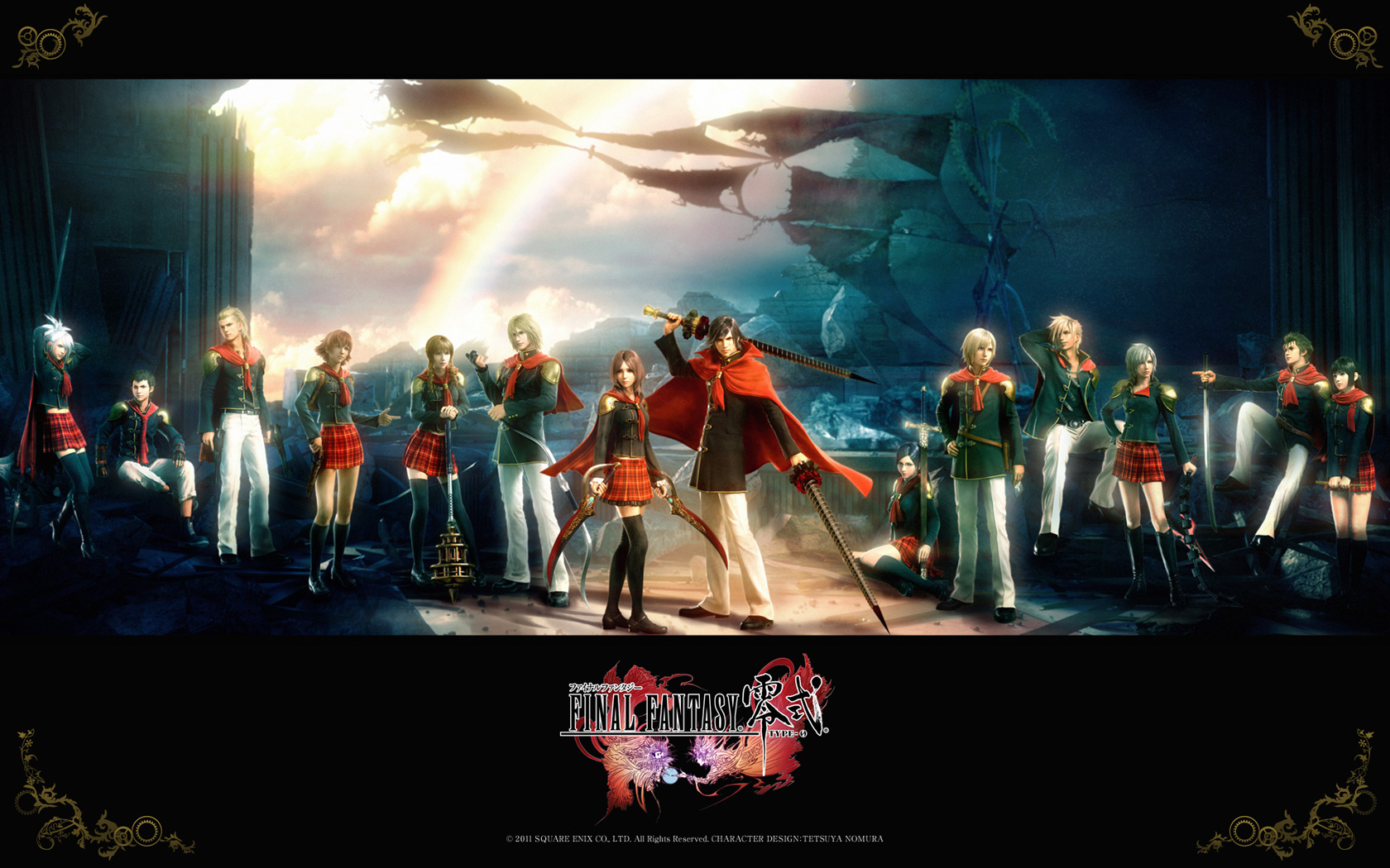 Free Final Fantasy Type-0 Wallpaper in 1680x1050
