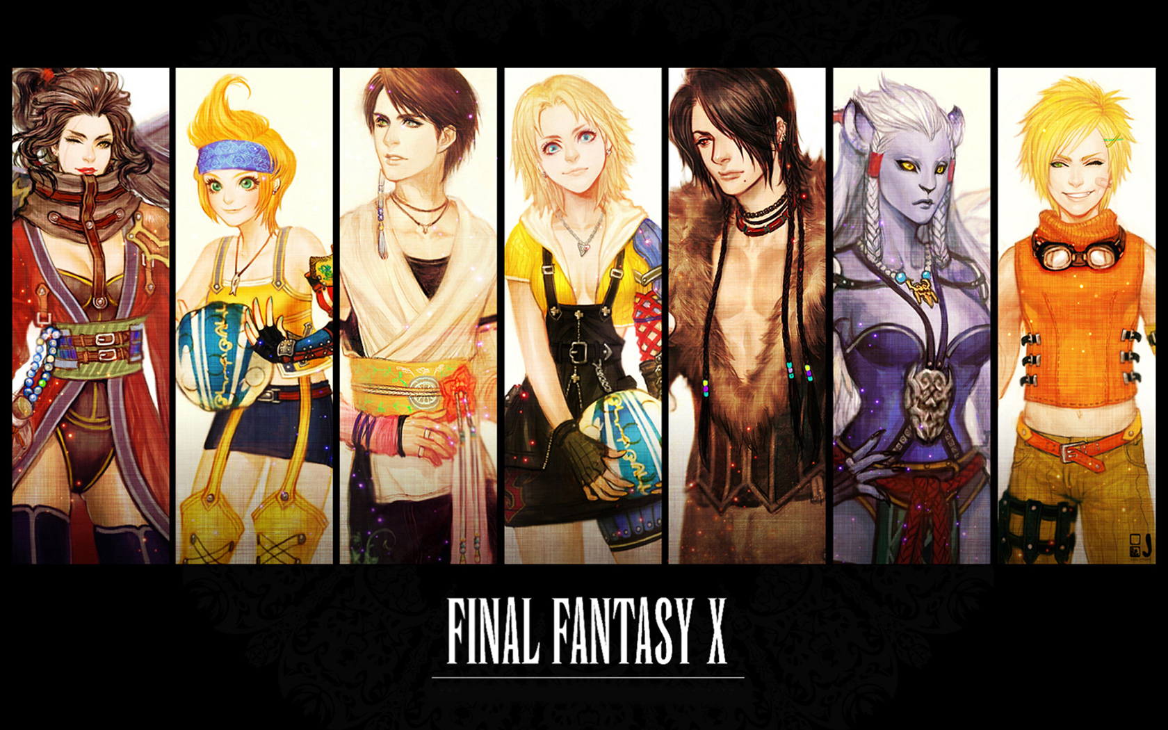 Free Final Fantasy X Wallpaper in 1680x1050