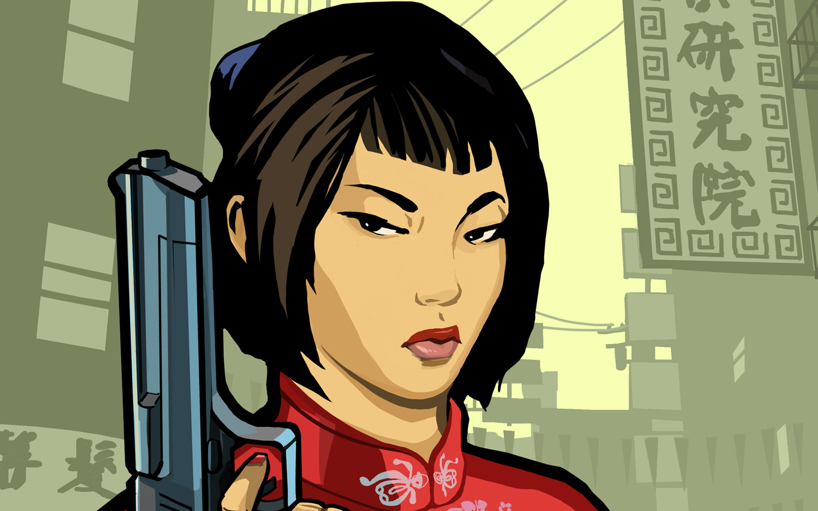 Free Grand Theft Auto: Chinatown Wars Wallpaper in 1680x1050