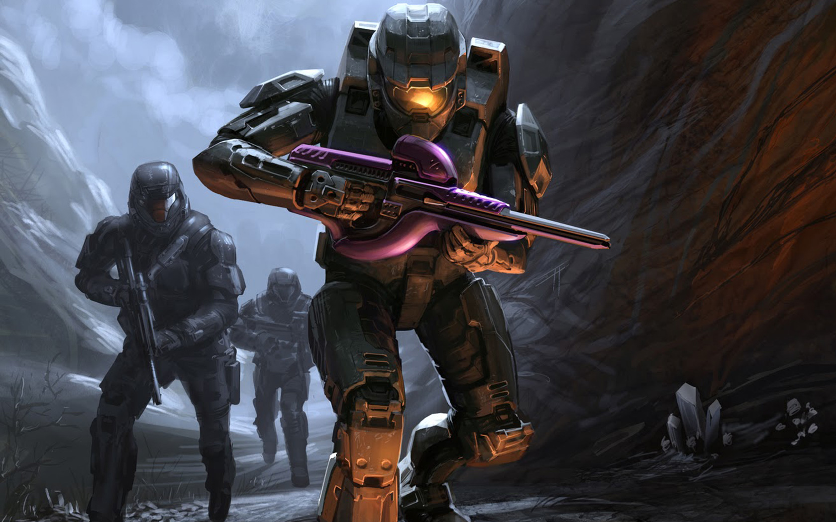 Free Halo Wallpaper in 1680x1050