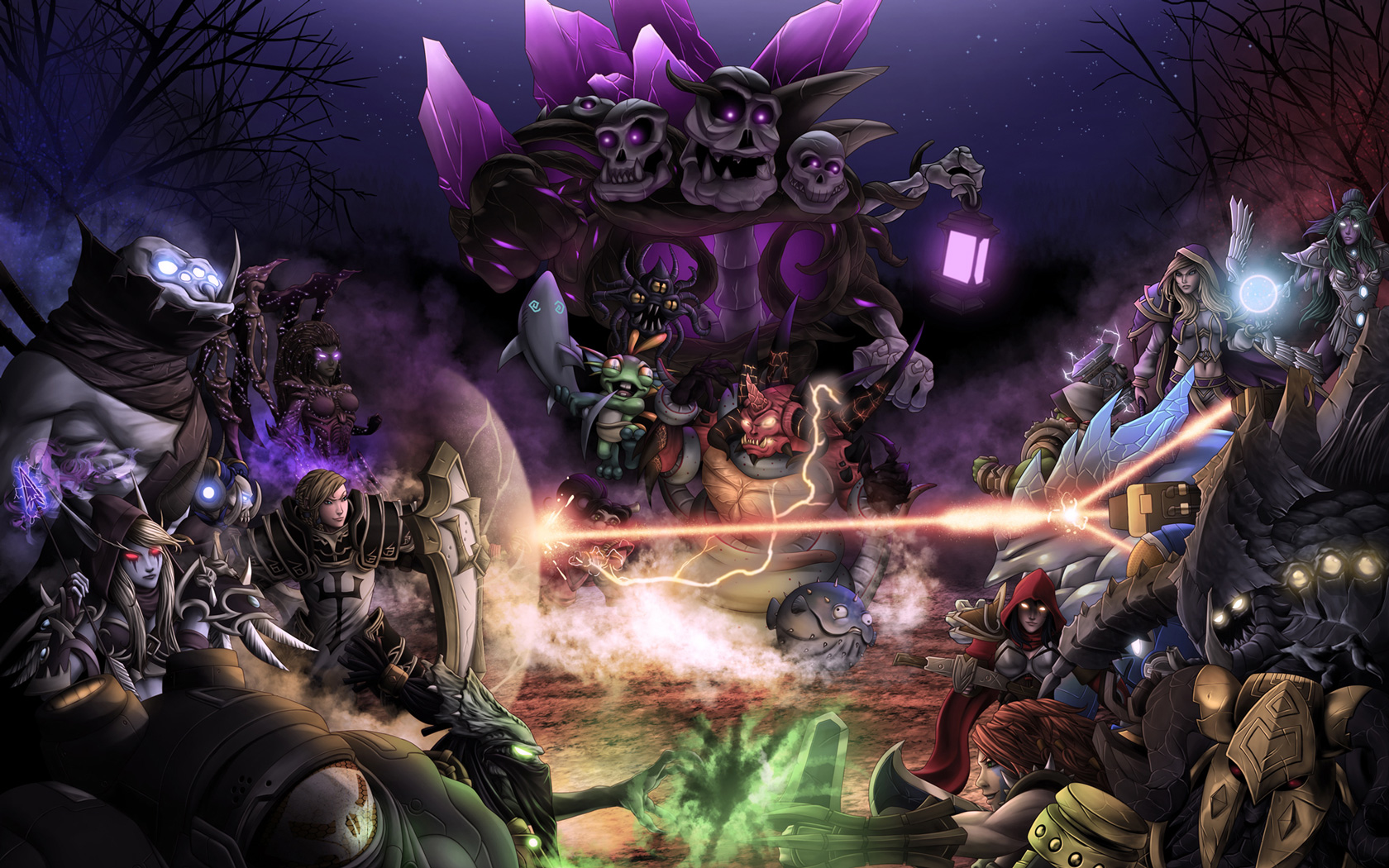 Free Heroes of the Storm Wallpaper in 1680x1050