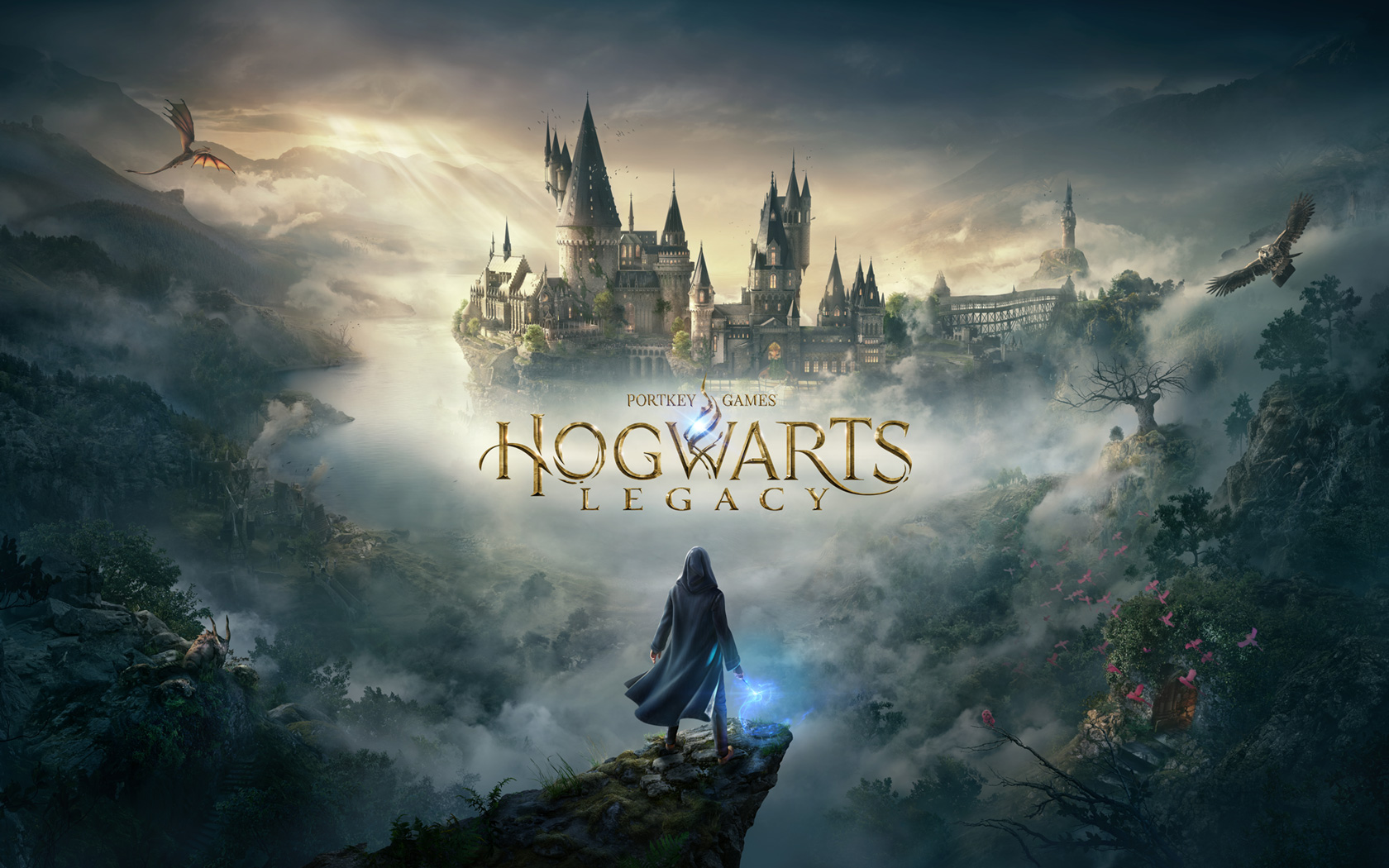 Free Hogwarts Legacy Wallpaper in 1680x1050