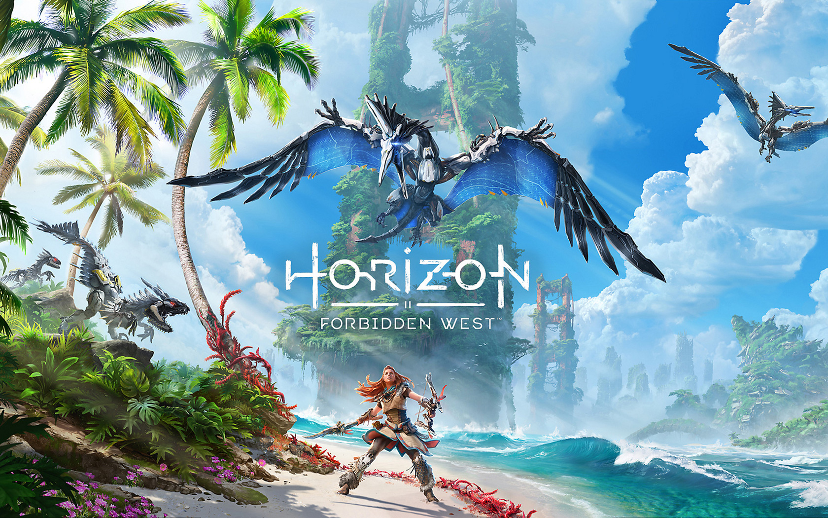 Free Horizon: Forbidden West Wallpaper in 1680x1050