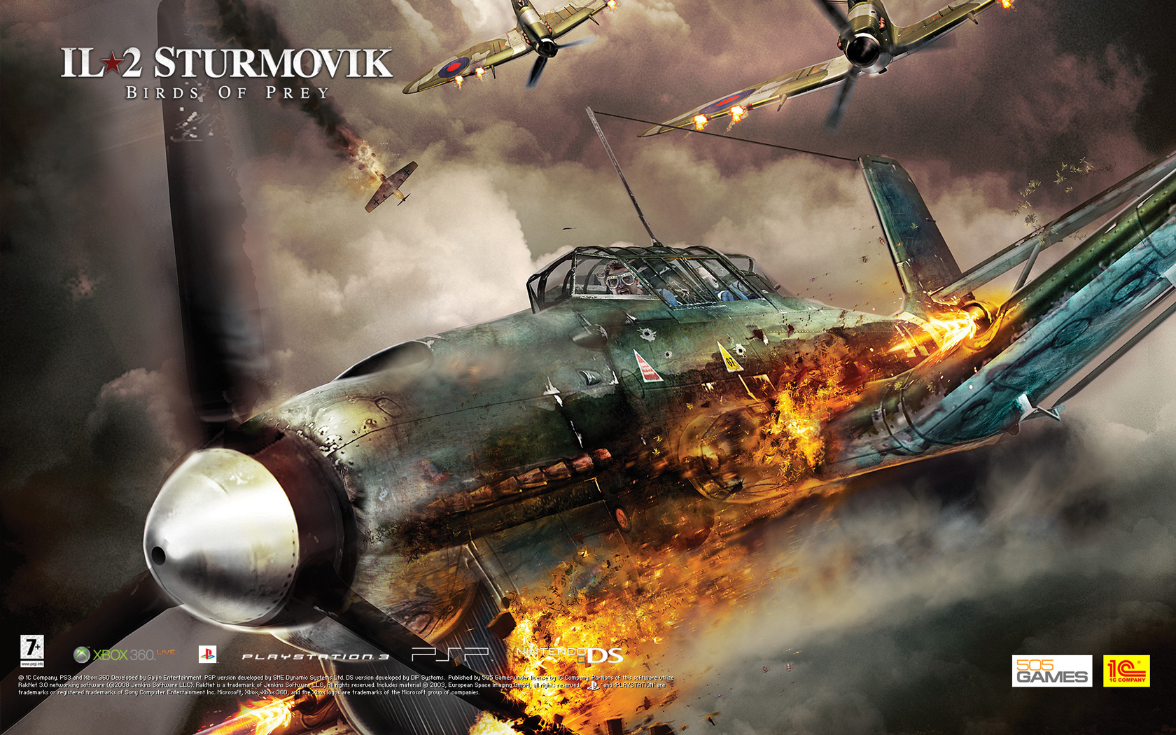 Free IL-2 Sturmovik: Birds of Prey Wallpaper in 1680x1050