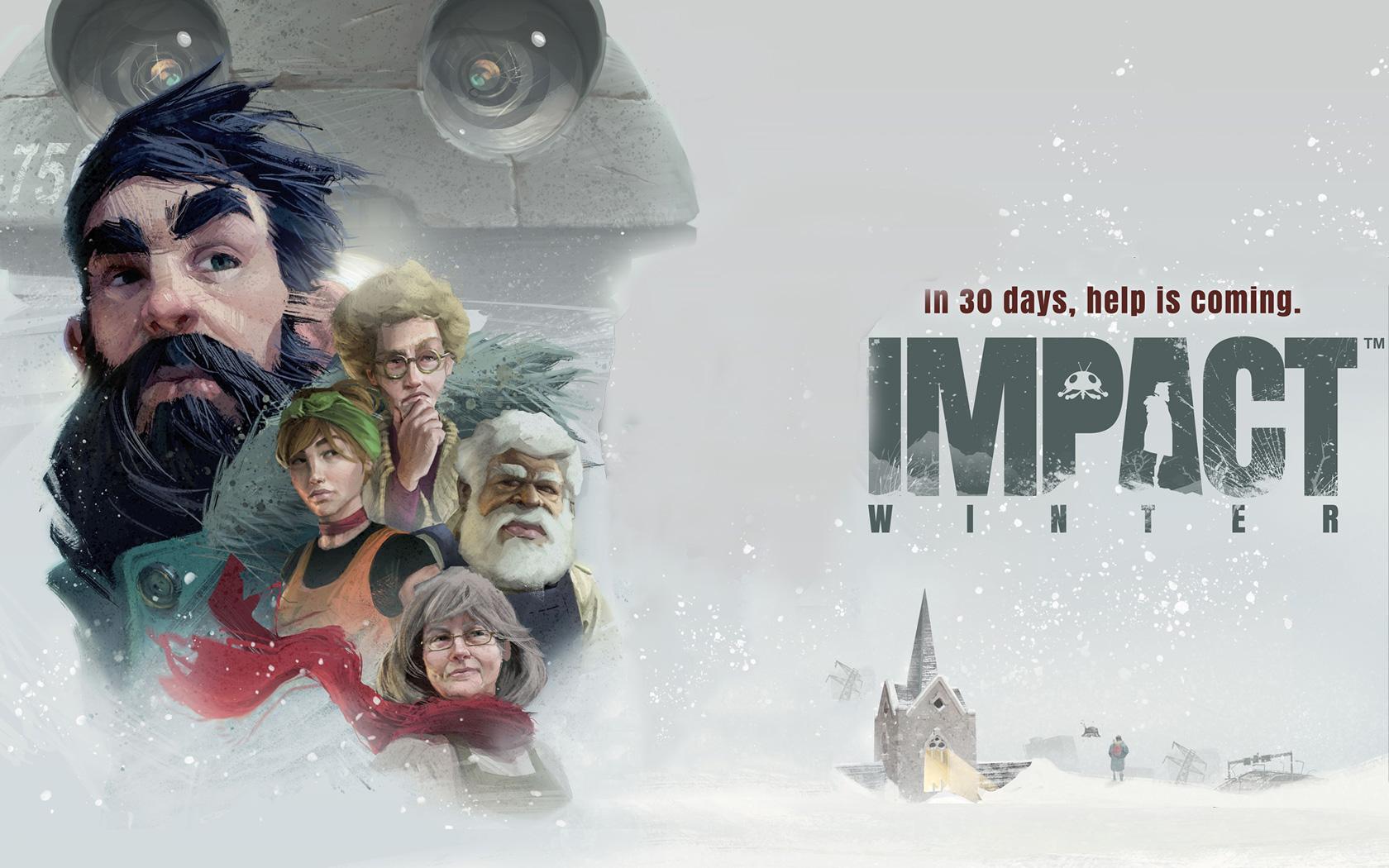Free Impact Winter Wallpaper in 1680x1050