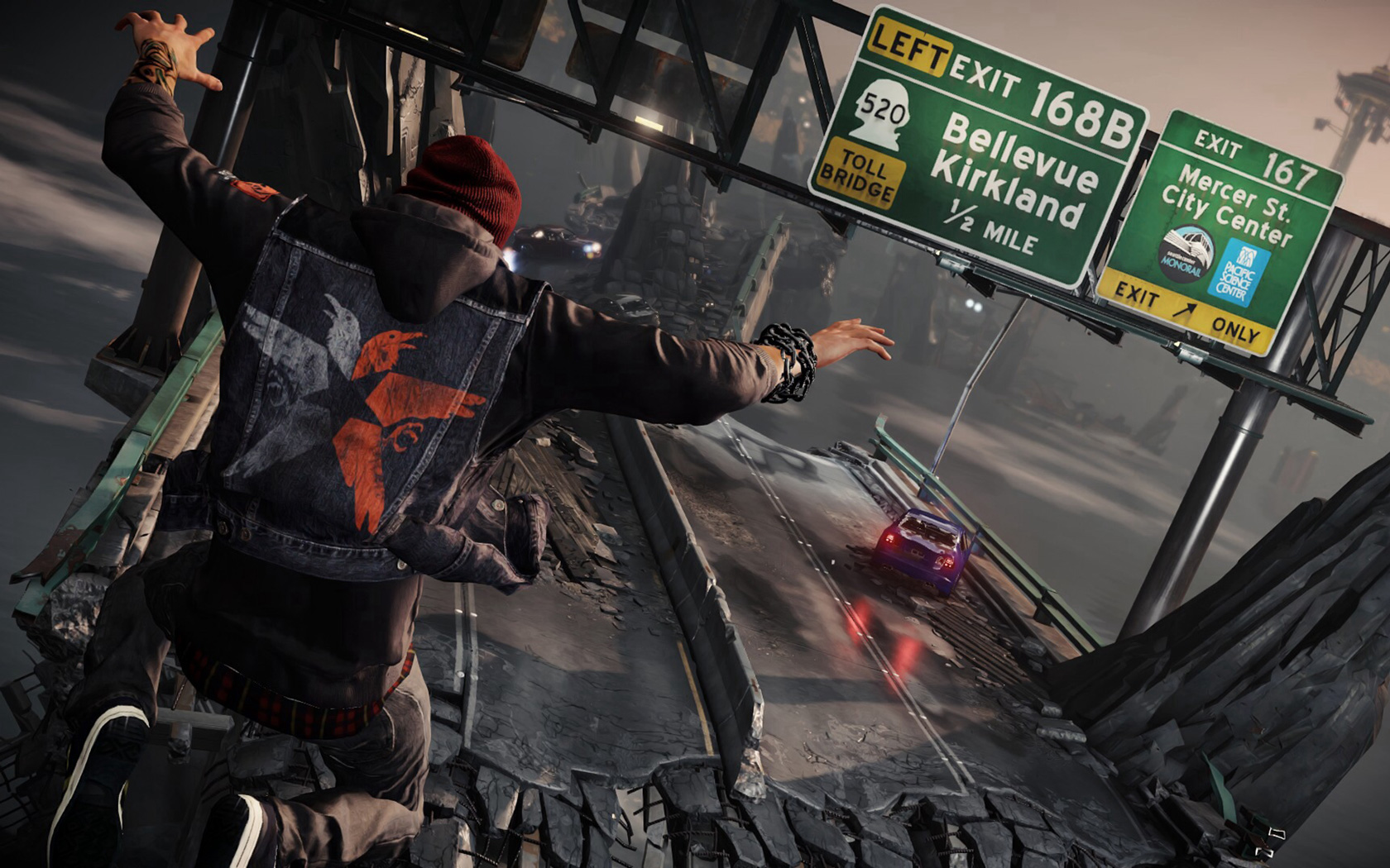 Free Infamous: Second Son Wallpaper in 1680x1050