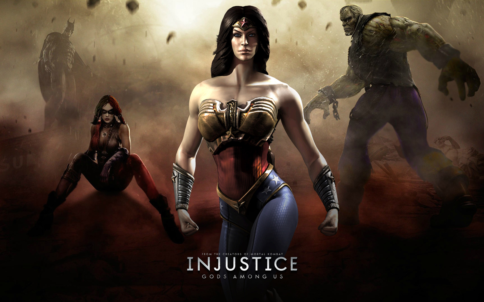 Free Injustice: Gods Among Us Wallpaper in 1680x1050