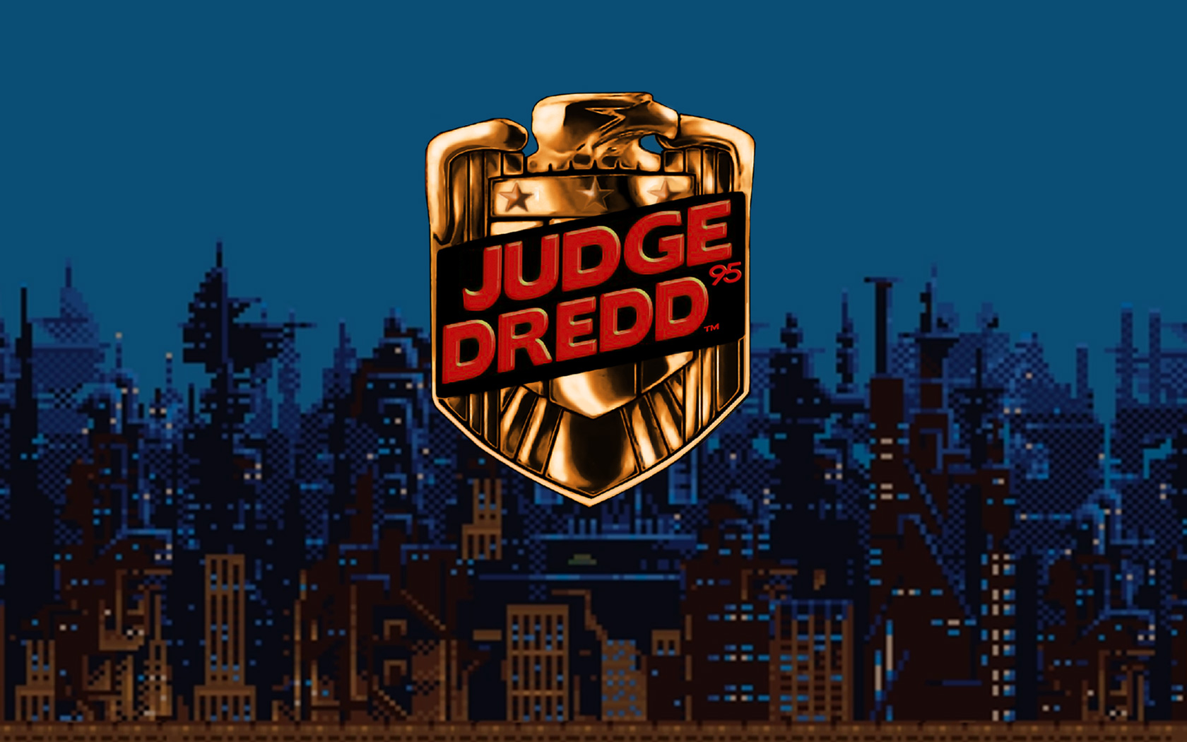 Free Judge Dredd 95 Wallpaper in 1680x1050