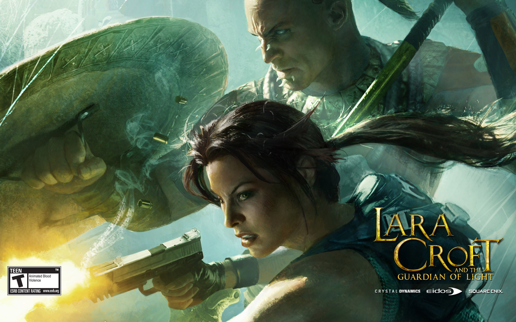 Lara Croft and the Guardian of Light Wallpaper in 1680x1050