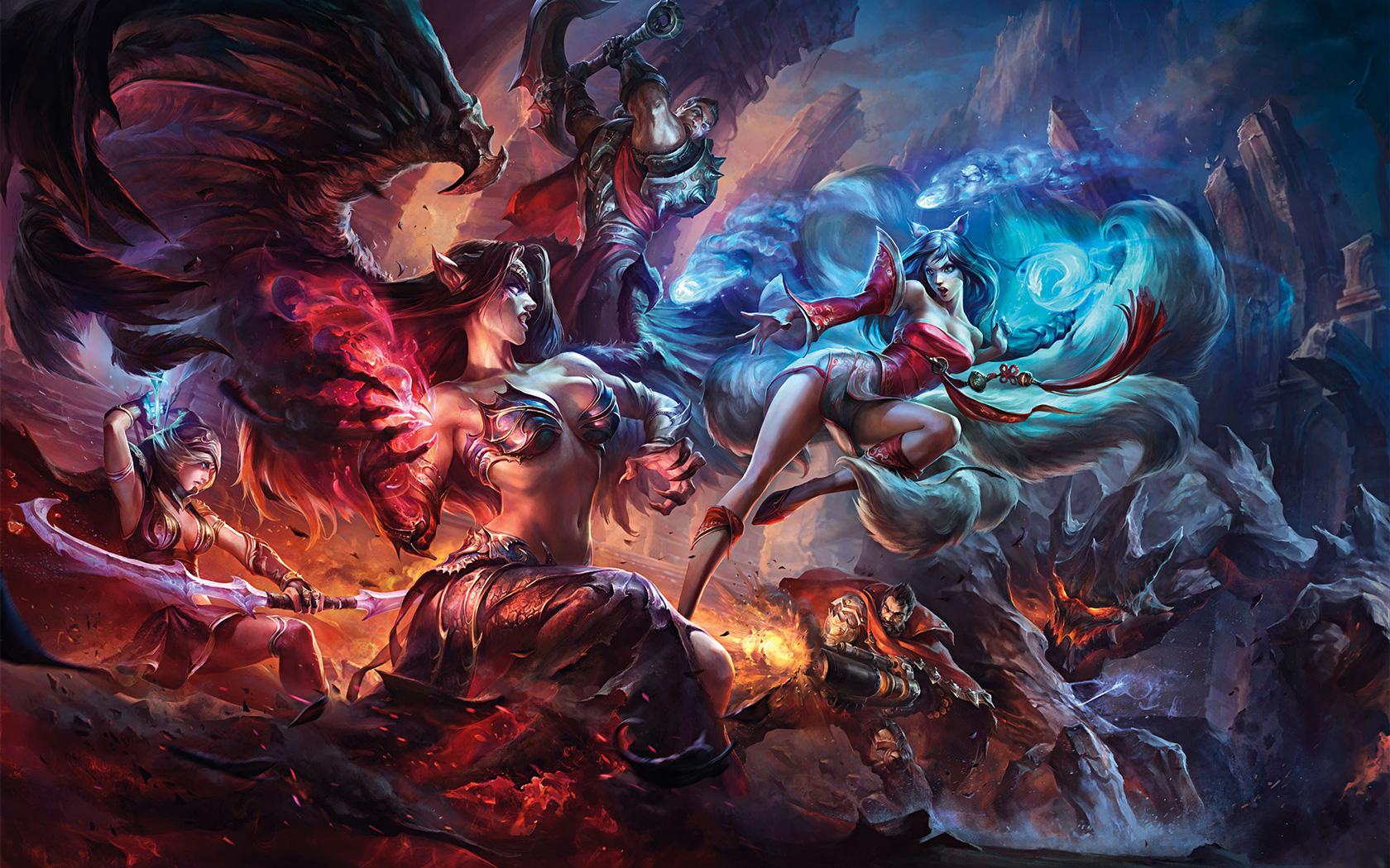 Free League of Legends Wallpaper in 1680x1050