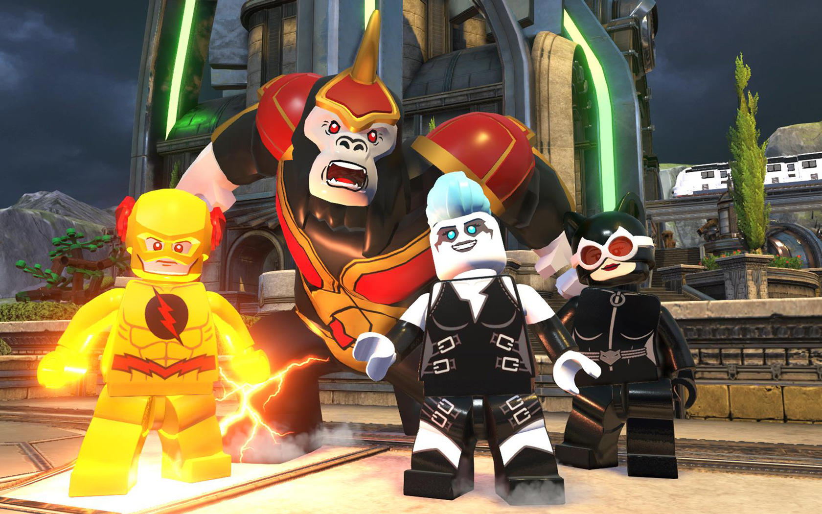 Free Lego DC Super Villains Wallpaper in 1680x1050