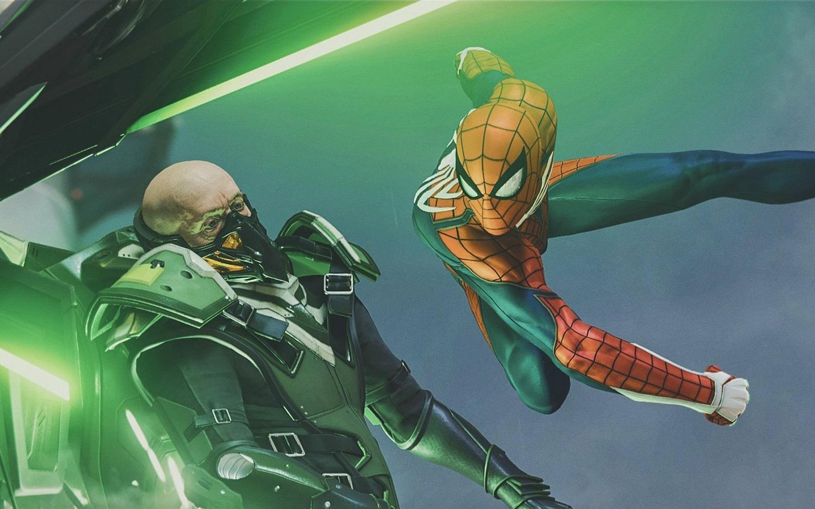 Free Spider-Man Wallpaper in 1680x1050