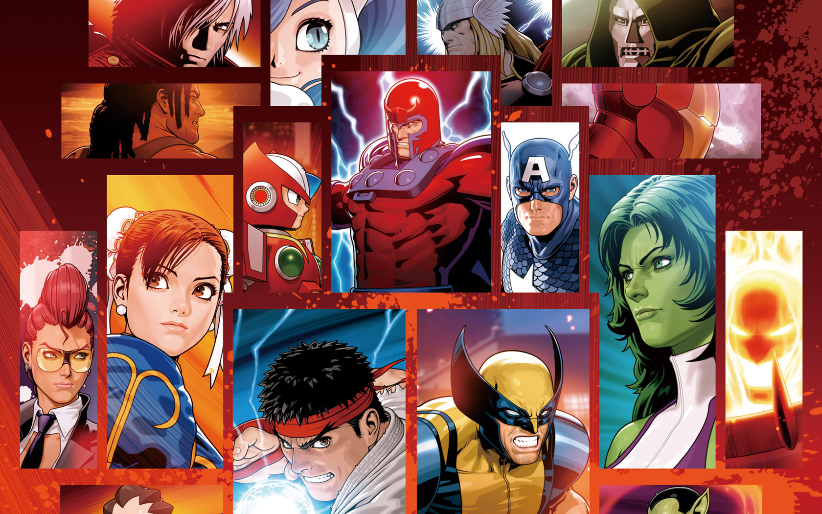 Marvel vs. Capcom 3: Fate of Two Worlds Wallpaper in 1680x1050