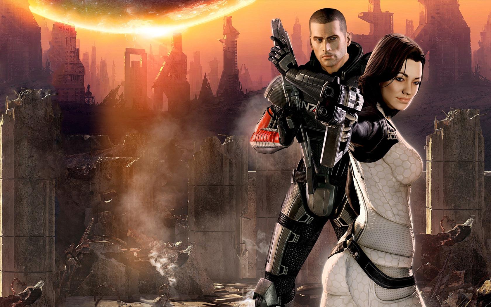 Free Mass Effect 2 Wallpaper in 1680x1050