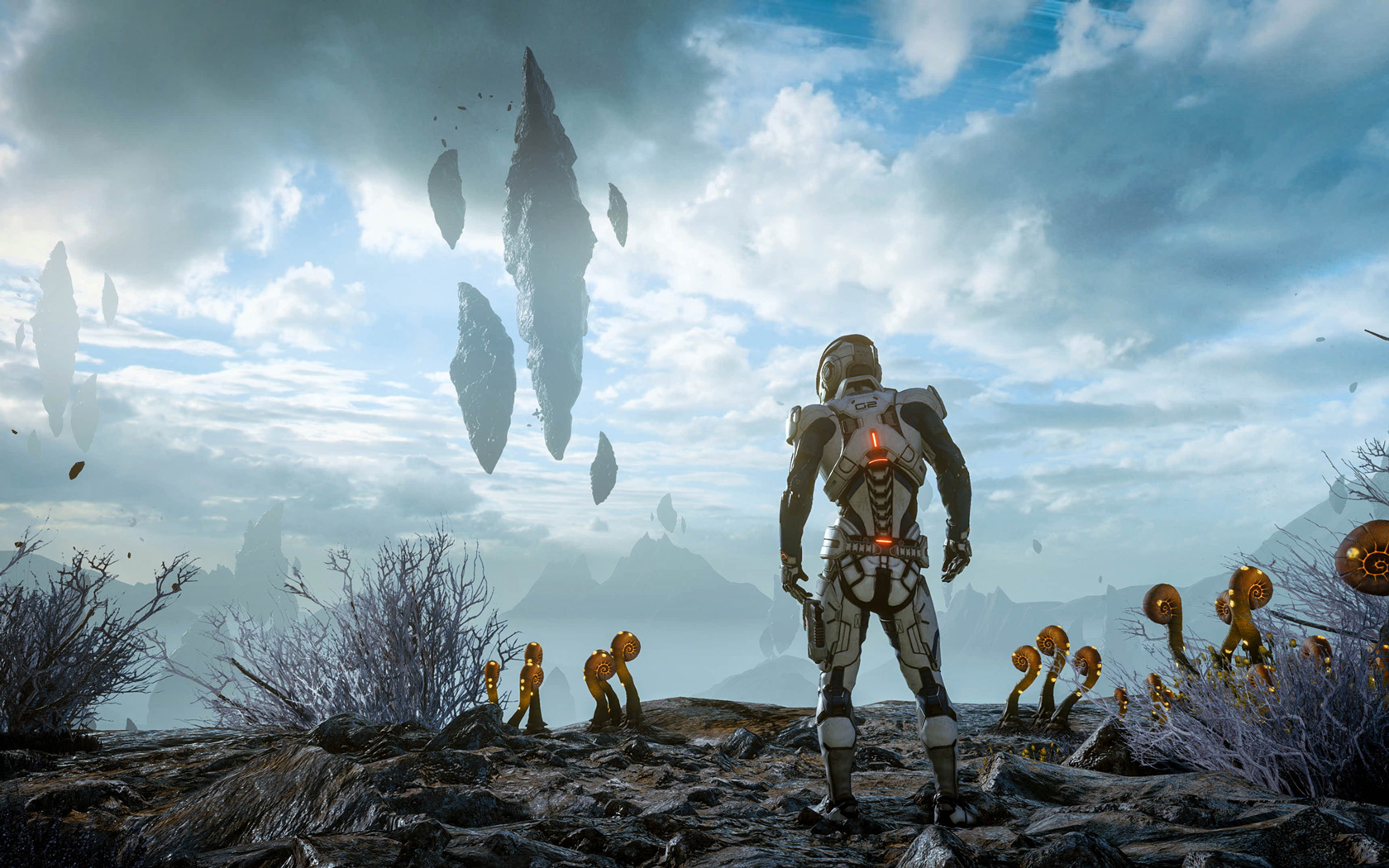Free Mass Effect: Andromeda Wallpaper in 1680x1050