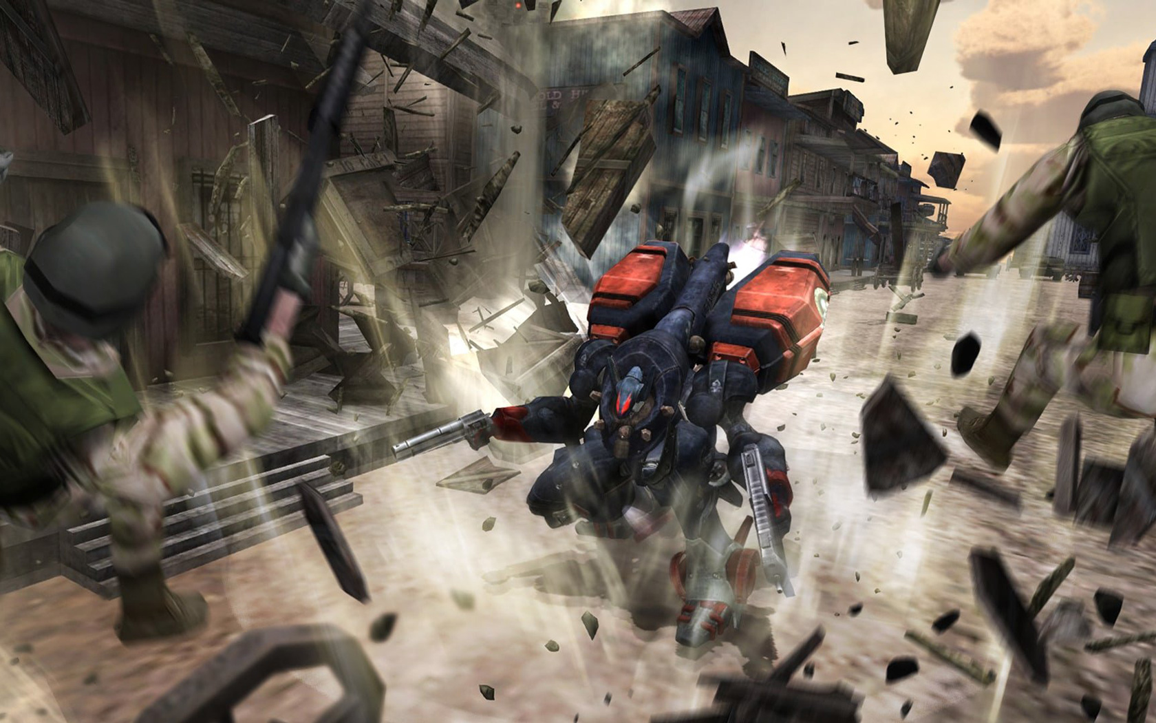 Free Metal Wolf Chaos XD Wallpaper in 1680x1050