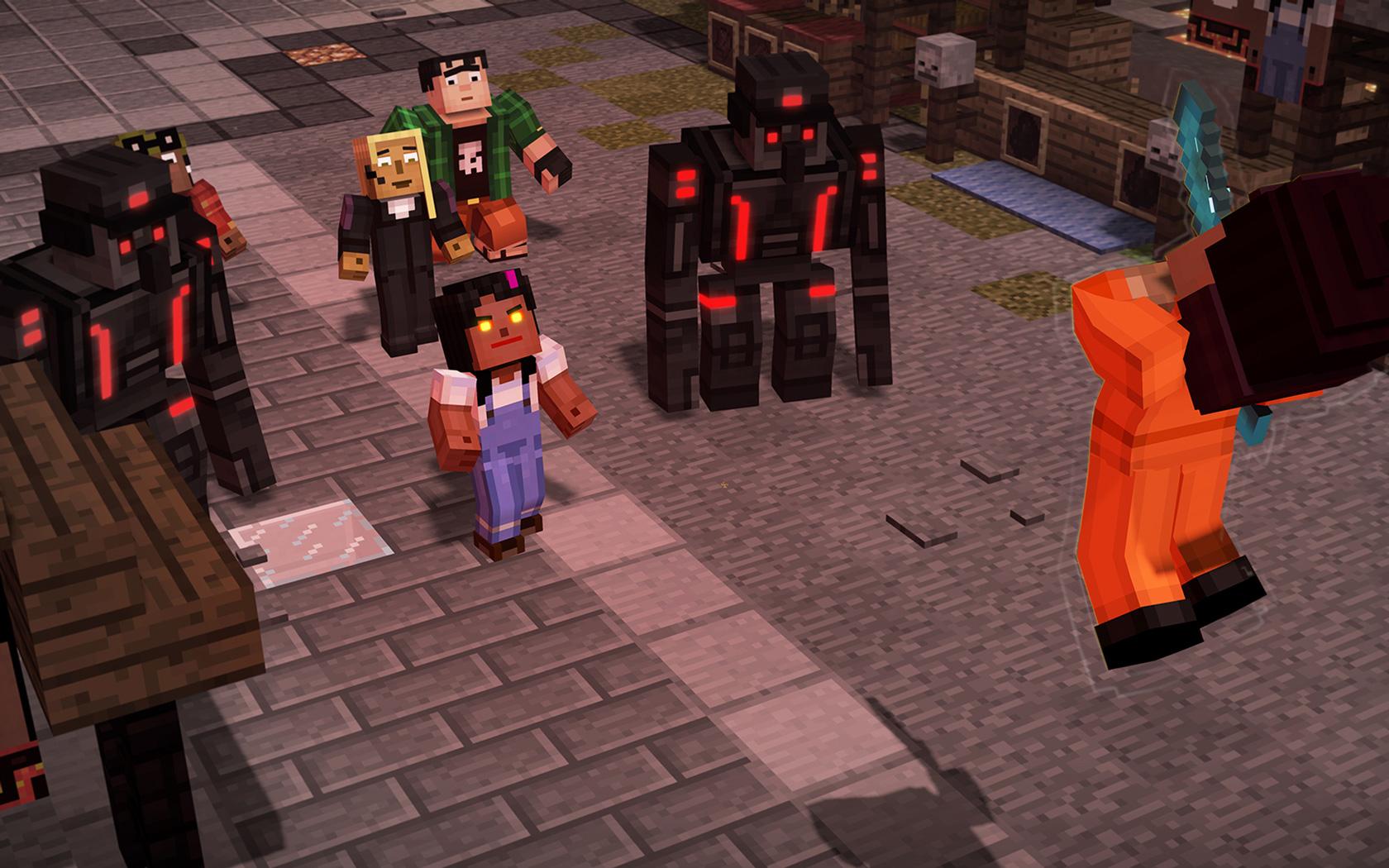 Free Minecraft: Story Mode Season 2 Wallpaper in 1680x1050