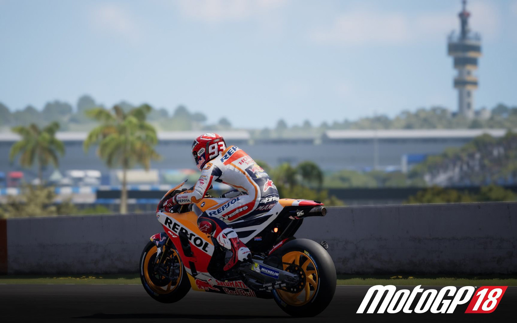Free MotoGP 18 Wallpaper in 1680x1050