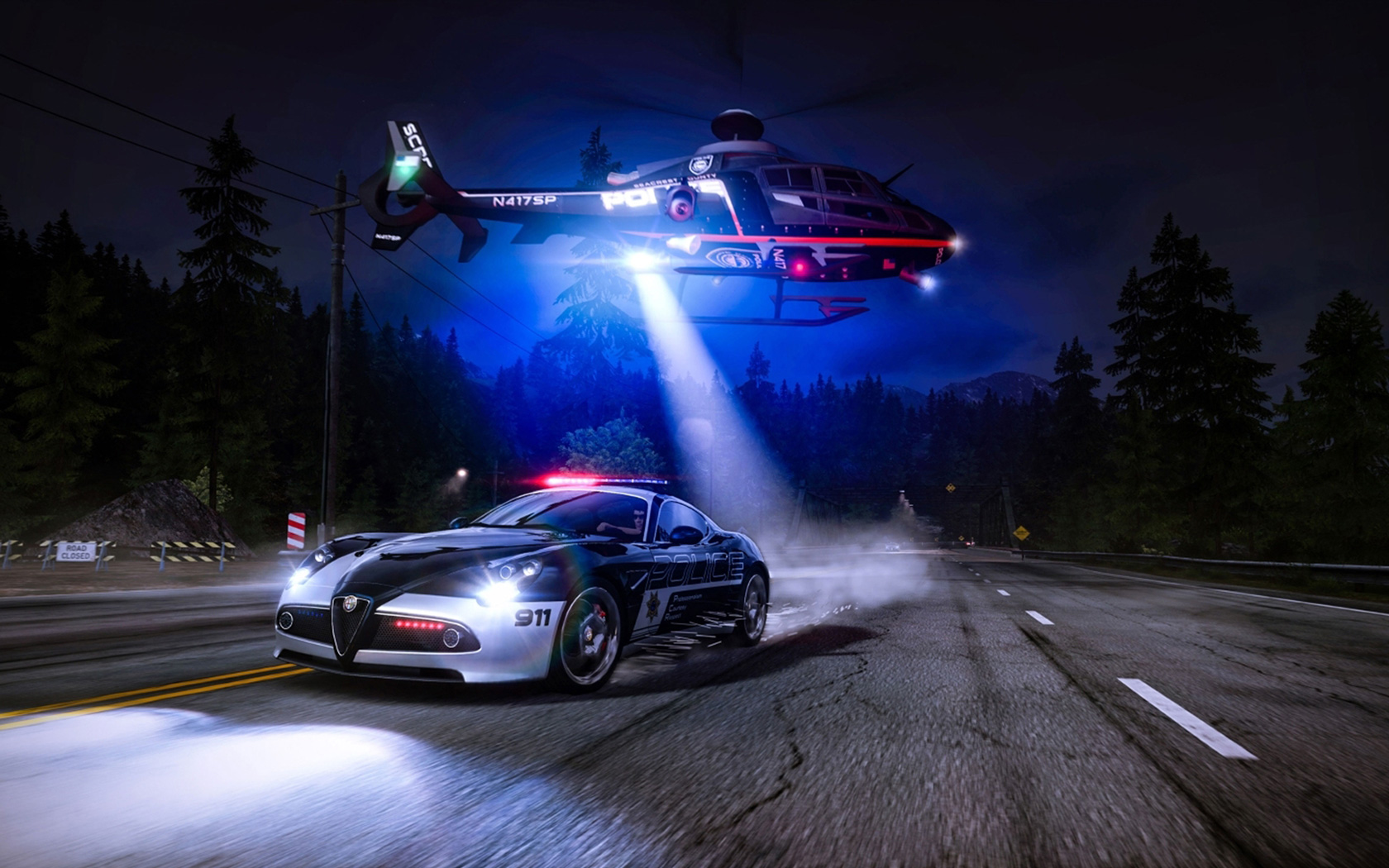 Need for Speed: Hot Pursuit Wallpaper in 1680x1050