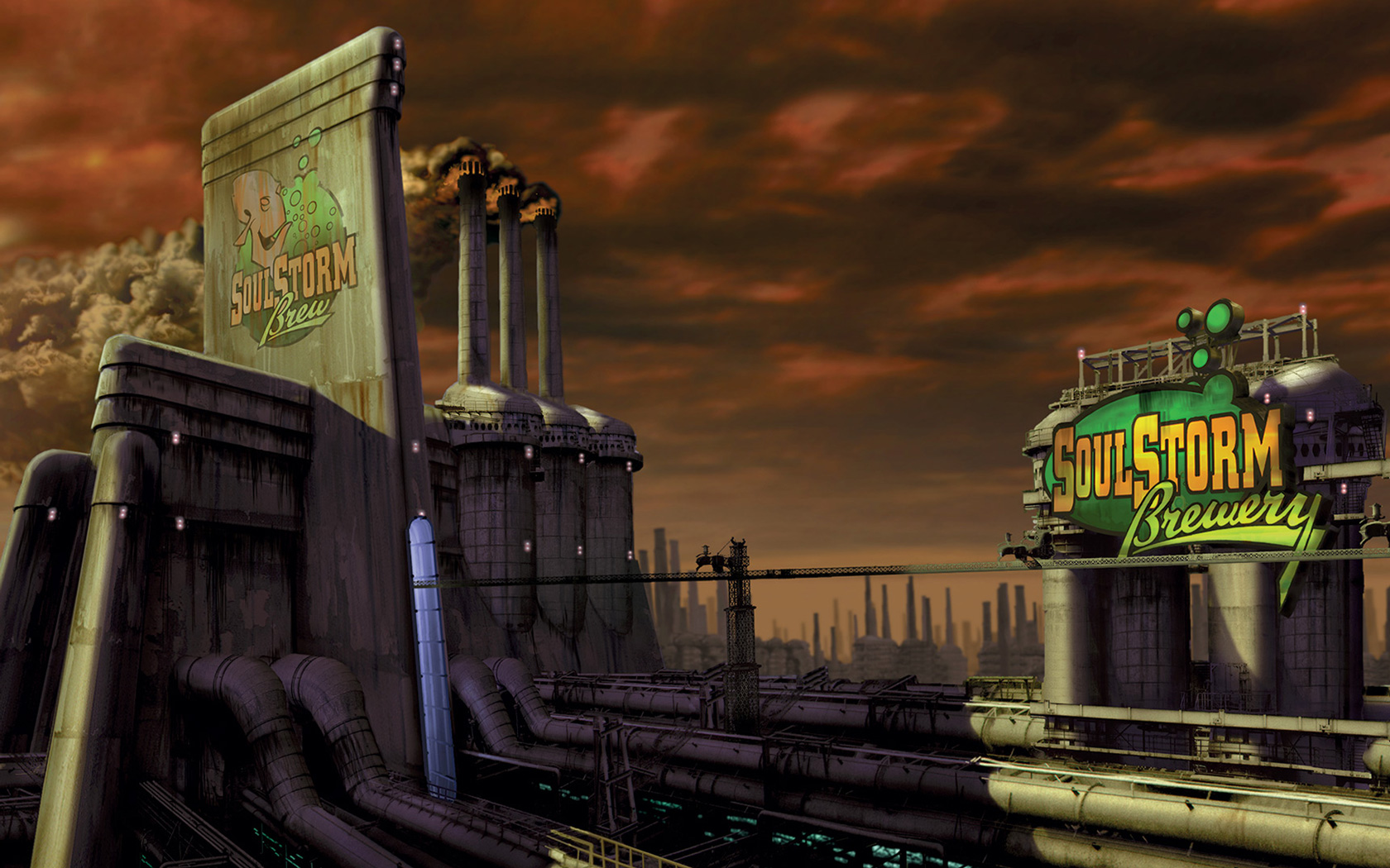 Free Oddworld: Abe's Oddysee Wallpaper in 1680x1050
