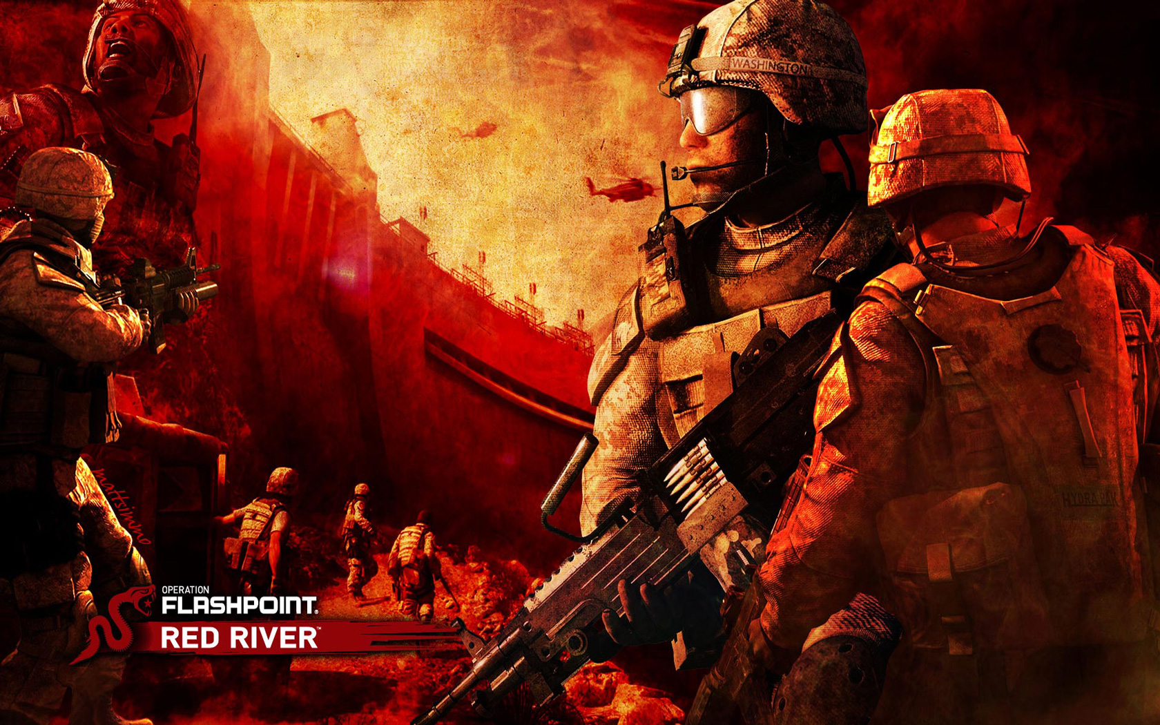 Operation Flashpoint: Red River Wallpaper in 1680x1050