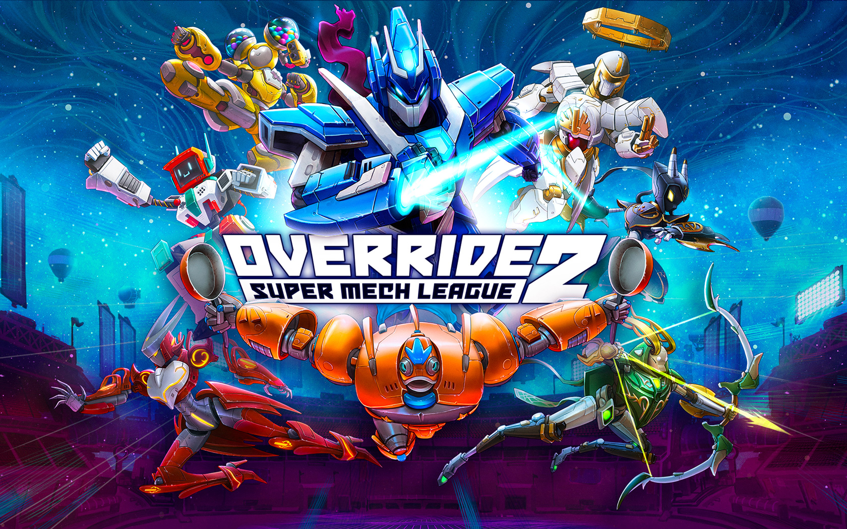 Override 2: Super Mech League Wallpaper in 1680x1050