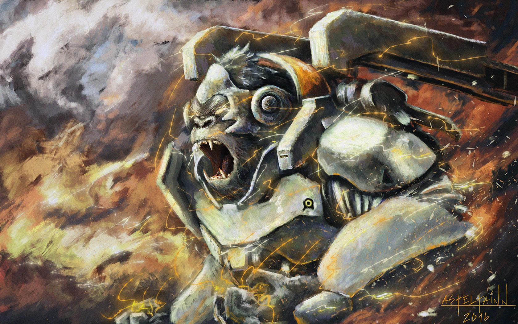 Free Overwatch Wallpaper in 1680x1050