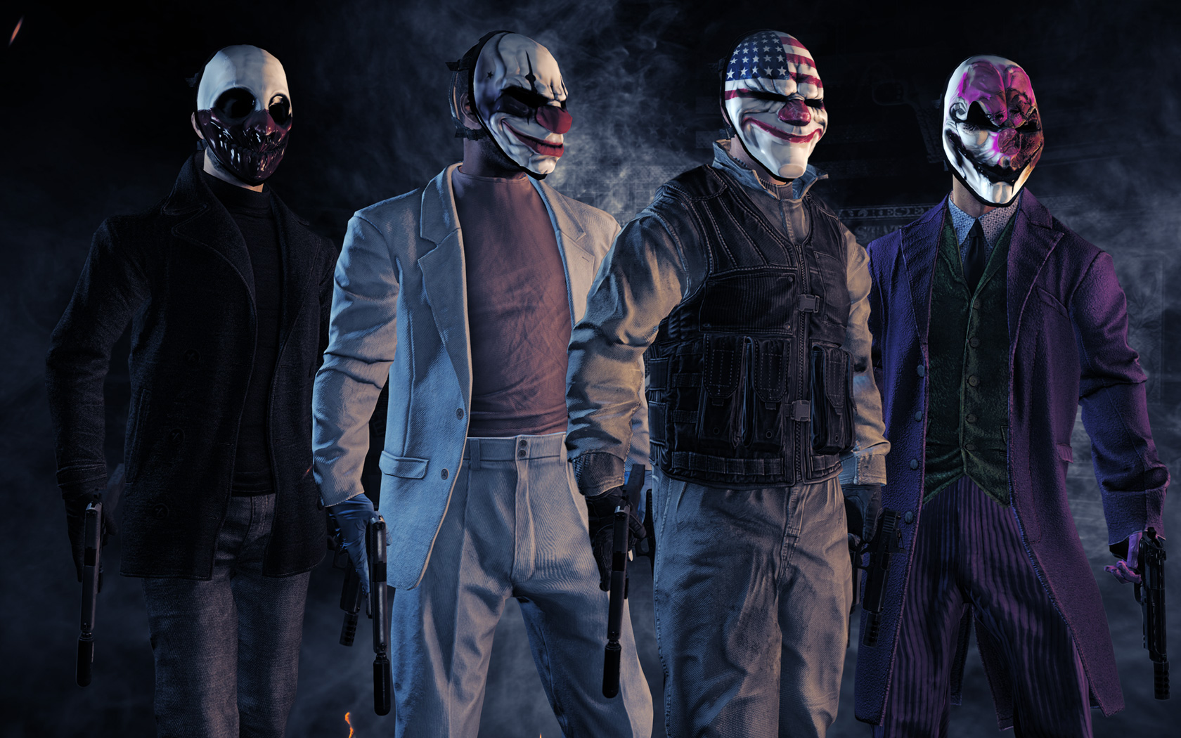 Payday 2 Wallpaper in 1680x1050