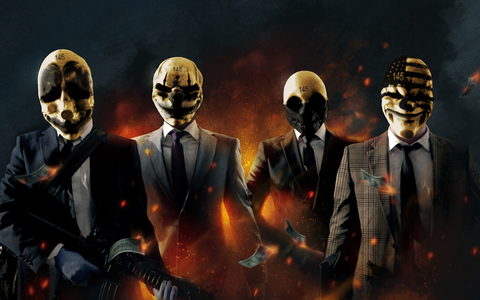 Free Payday: The Heist Wallpaper in 1680x1050