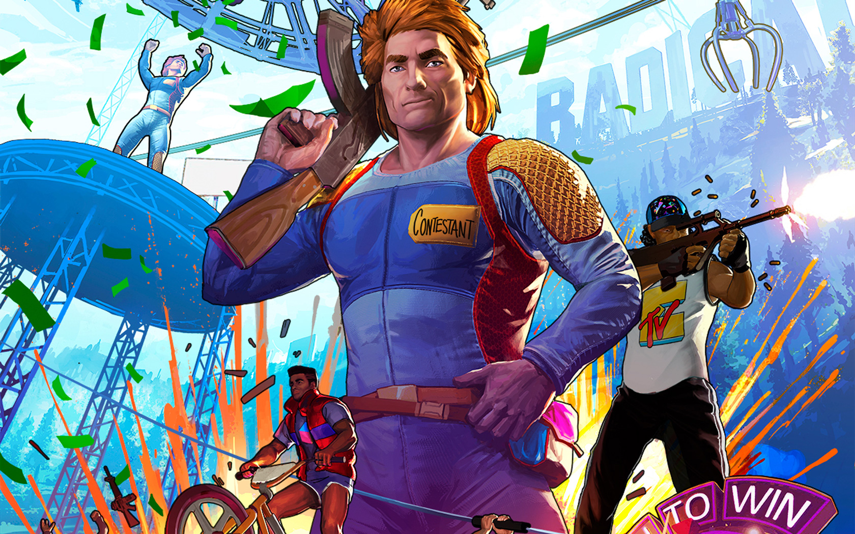 Free Radical Heights Wallpaper in 1680x1050