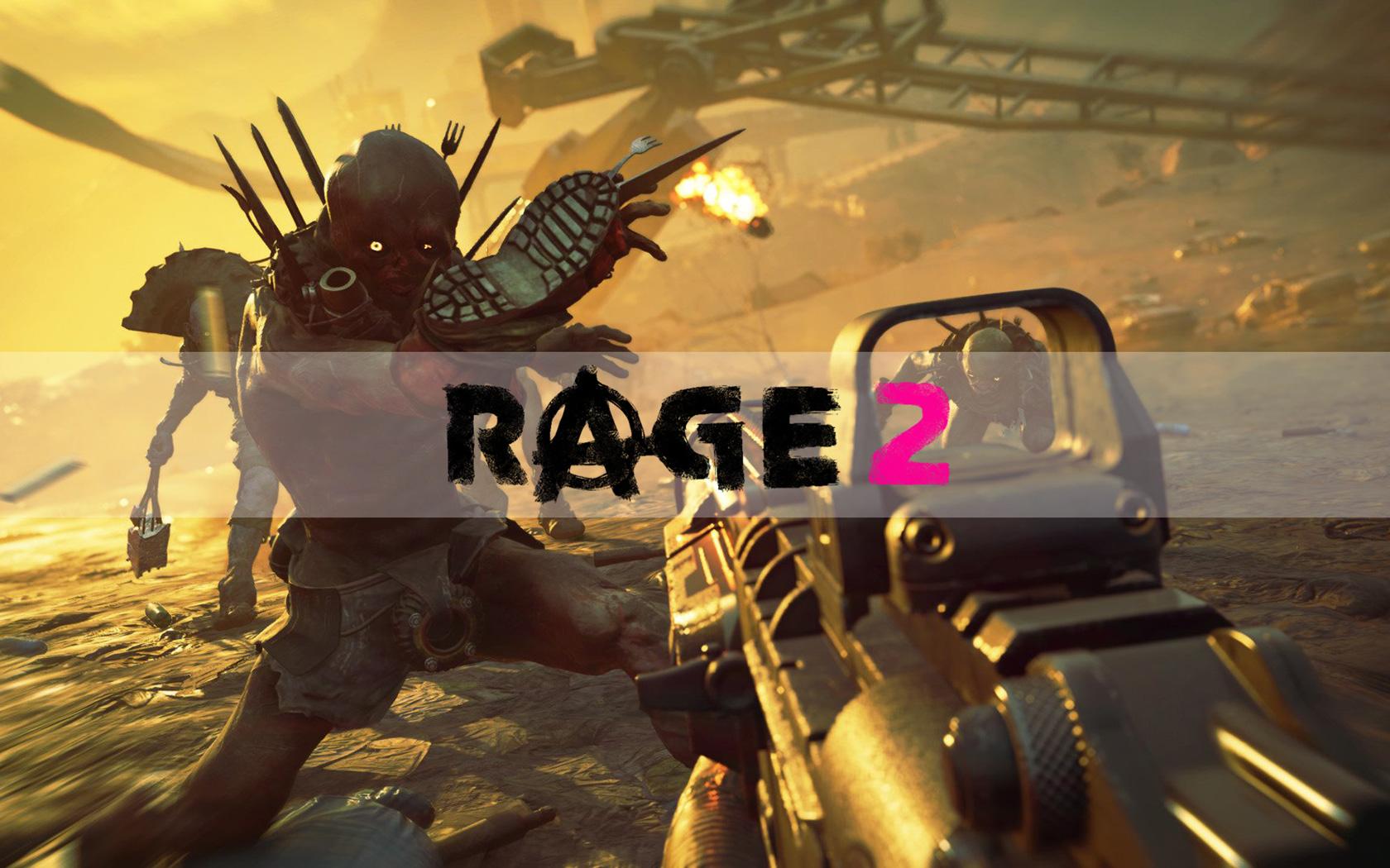 Rage 2 Wallpaper in 1680x1050