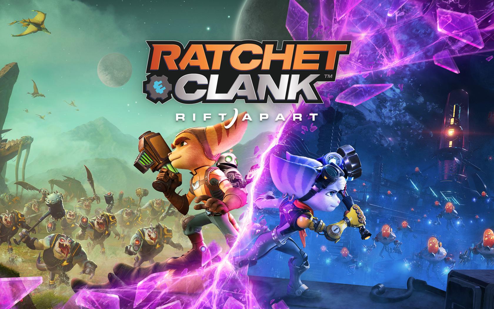Free Ratchet & Clank: Rift Apart Wallpaper in 1680x1050