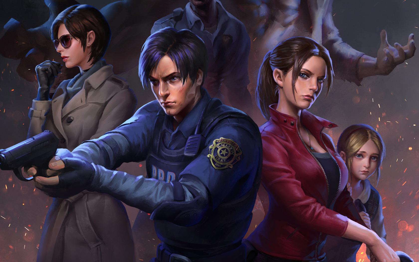 Free Resident Evil 2 Wallpaper in 1680x1050