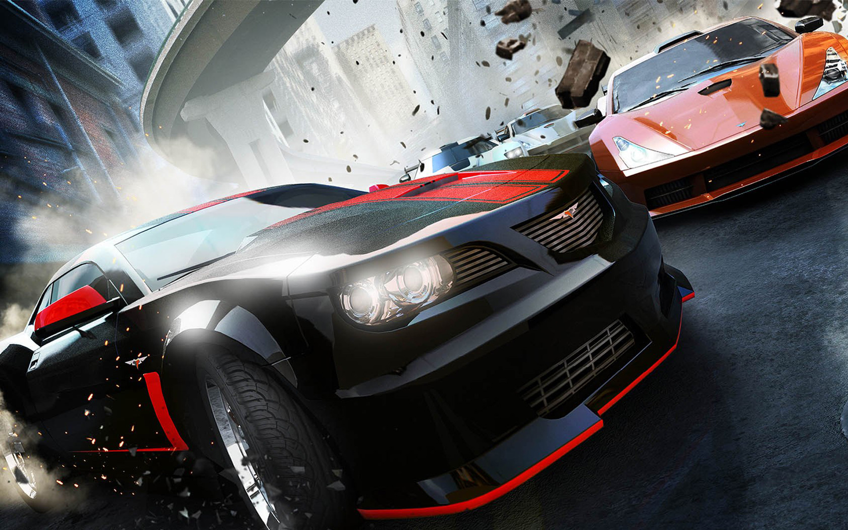 Free Ridge Racer Unbounded Wallpaper in 1680x1050