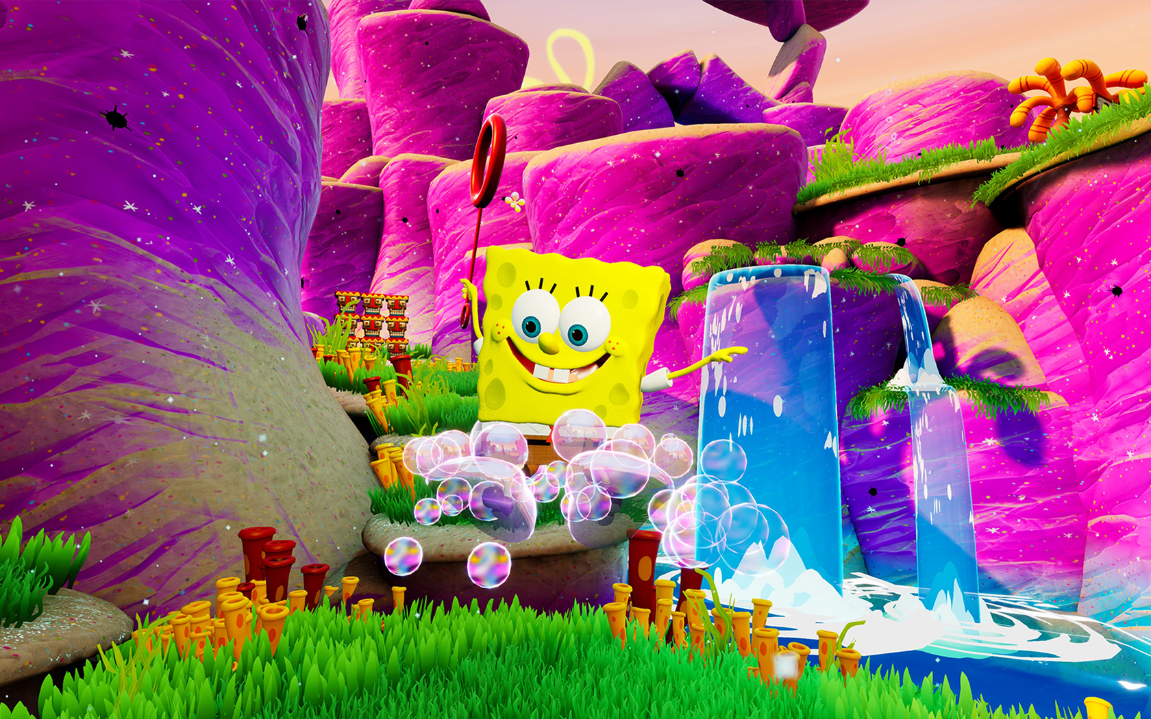 SpongeBob SquarePants: Battle for Bikini Bottom Wallpaper in 1680x1050