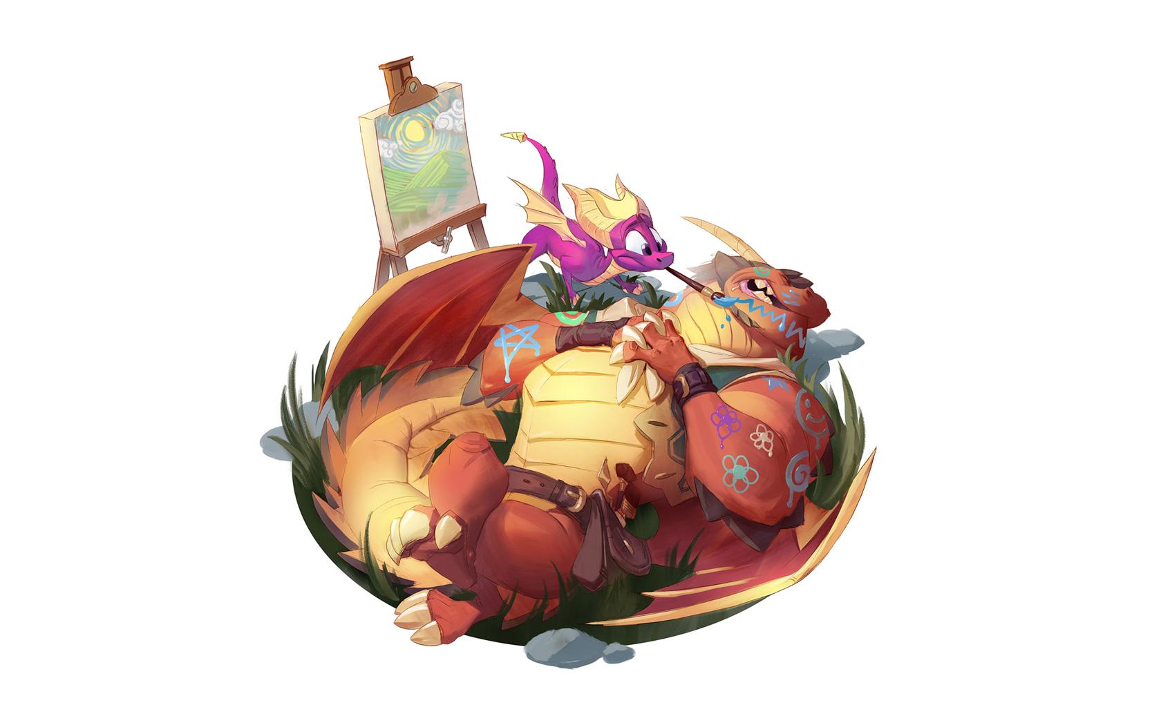 Free Spyro the Dragon Wallpaper in 1680x1050